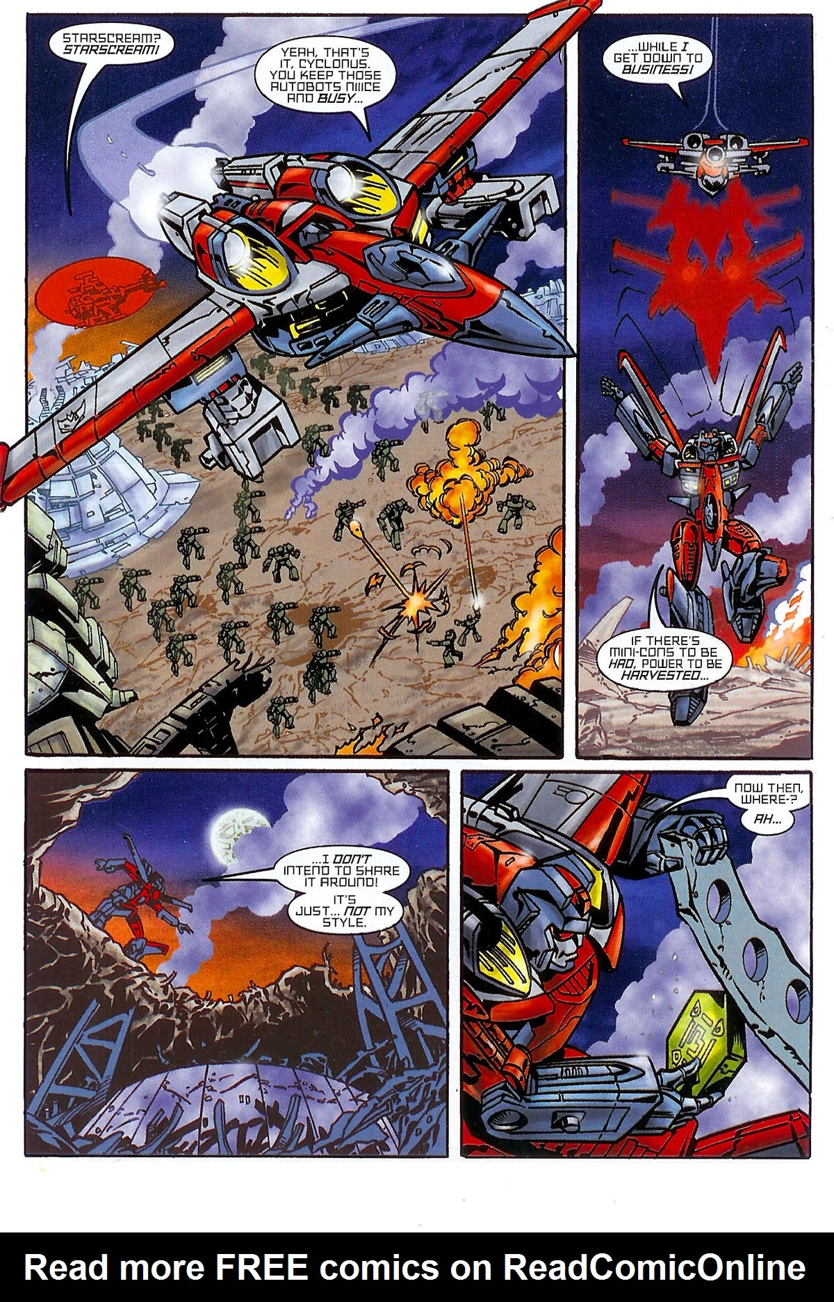 Read online Transformers: The Balance of Power comic -  Issue # Full - 9