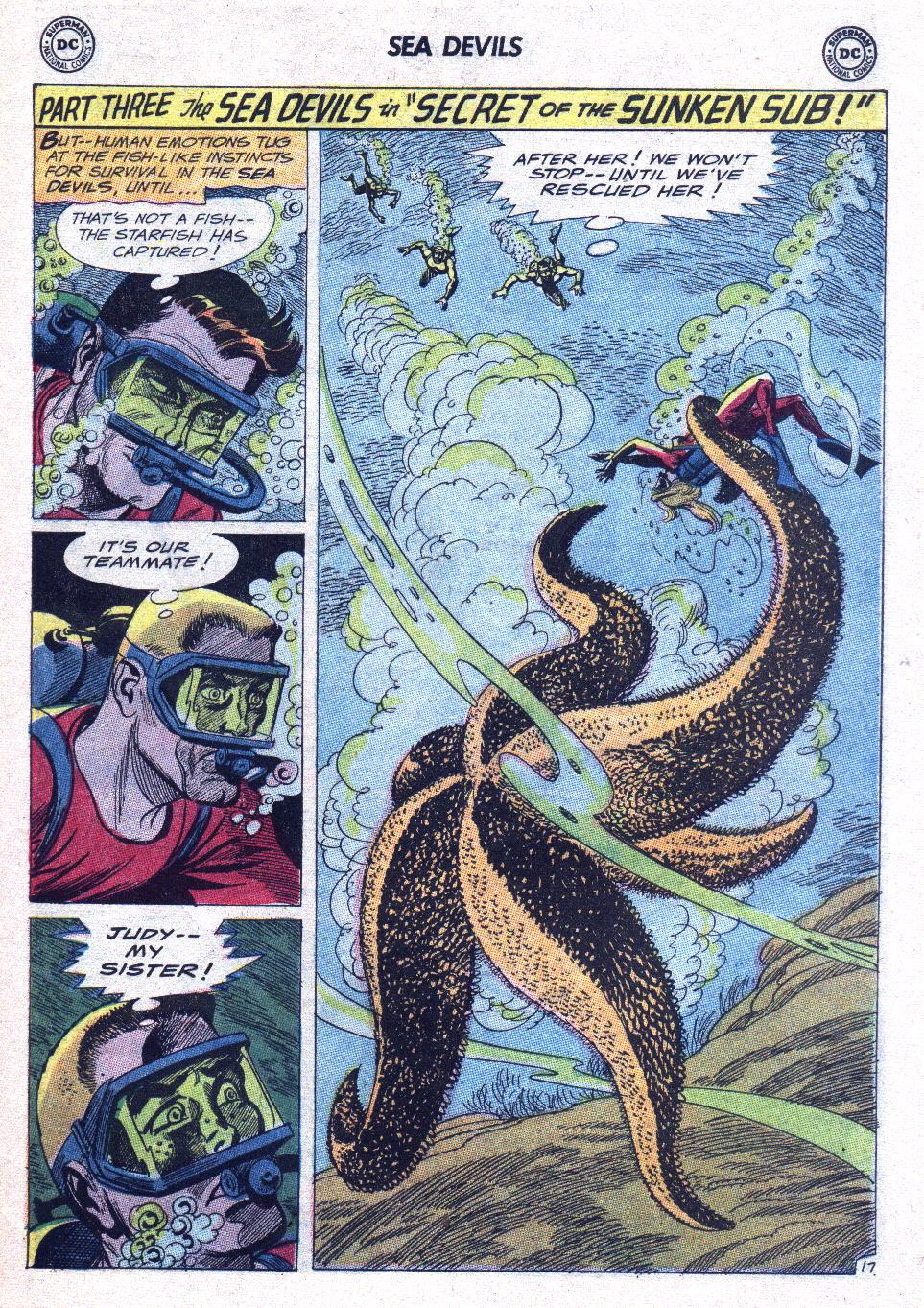 Read online Sea Devils comic -  Issue #15 - 24