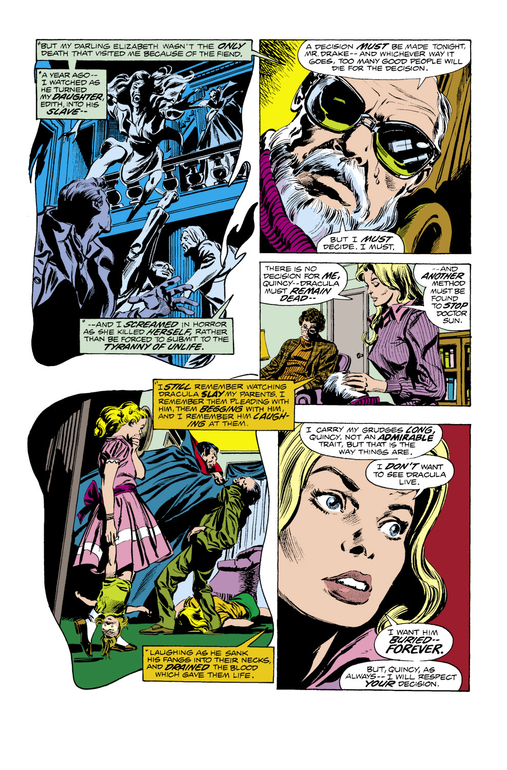 Tomb of Dracula (1972) issue 40 - Page 14