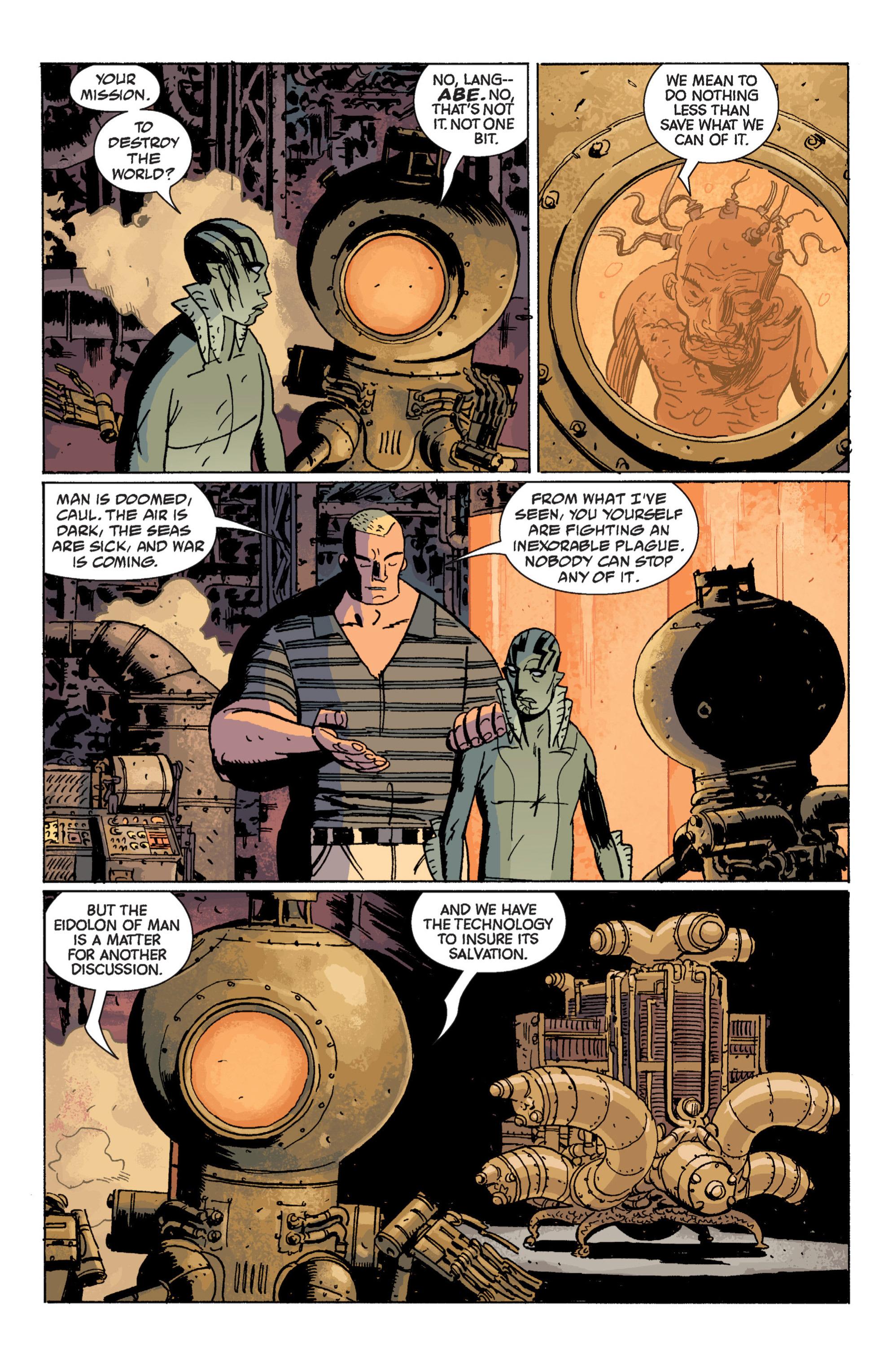 Read online B.P.R.D. (2003) comic -  Issue # TPB 7 - 98