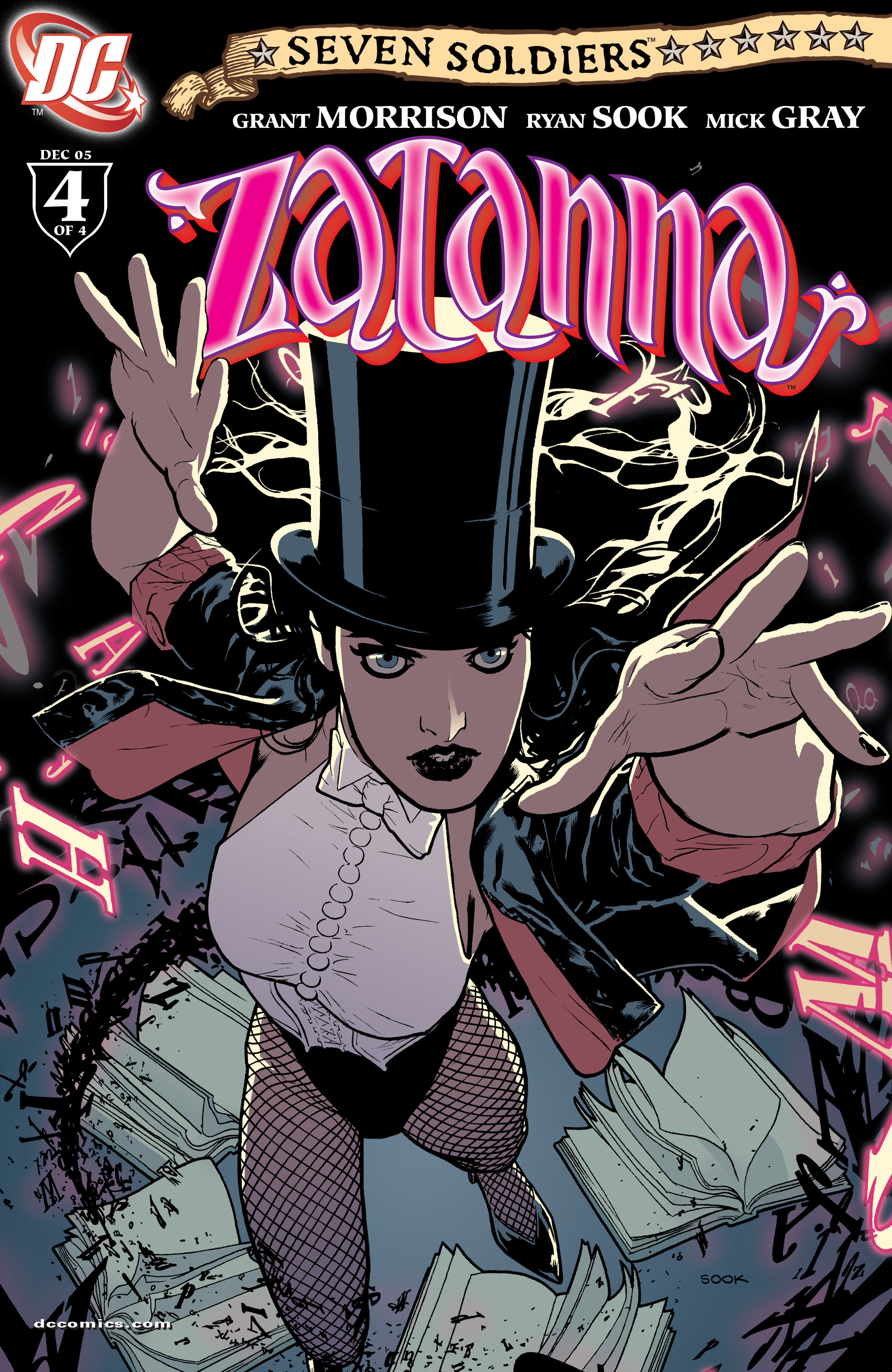 Read online Seven Soldiers: Zatanna comic -  Issue #4 - 1