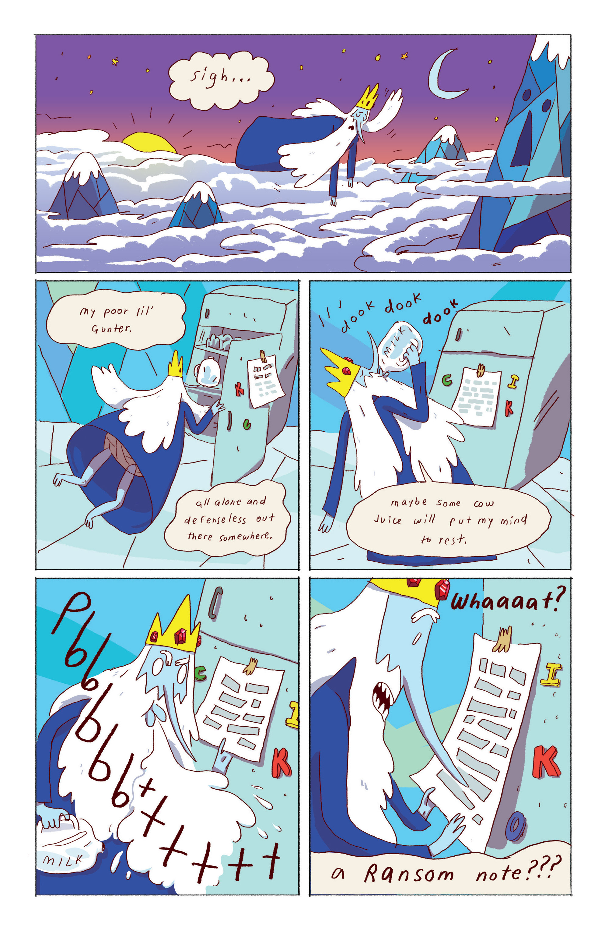 Read online Adventure Time: Ice King comic -  Issue #1 - 13