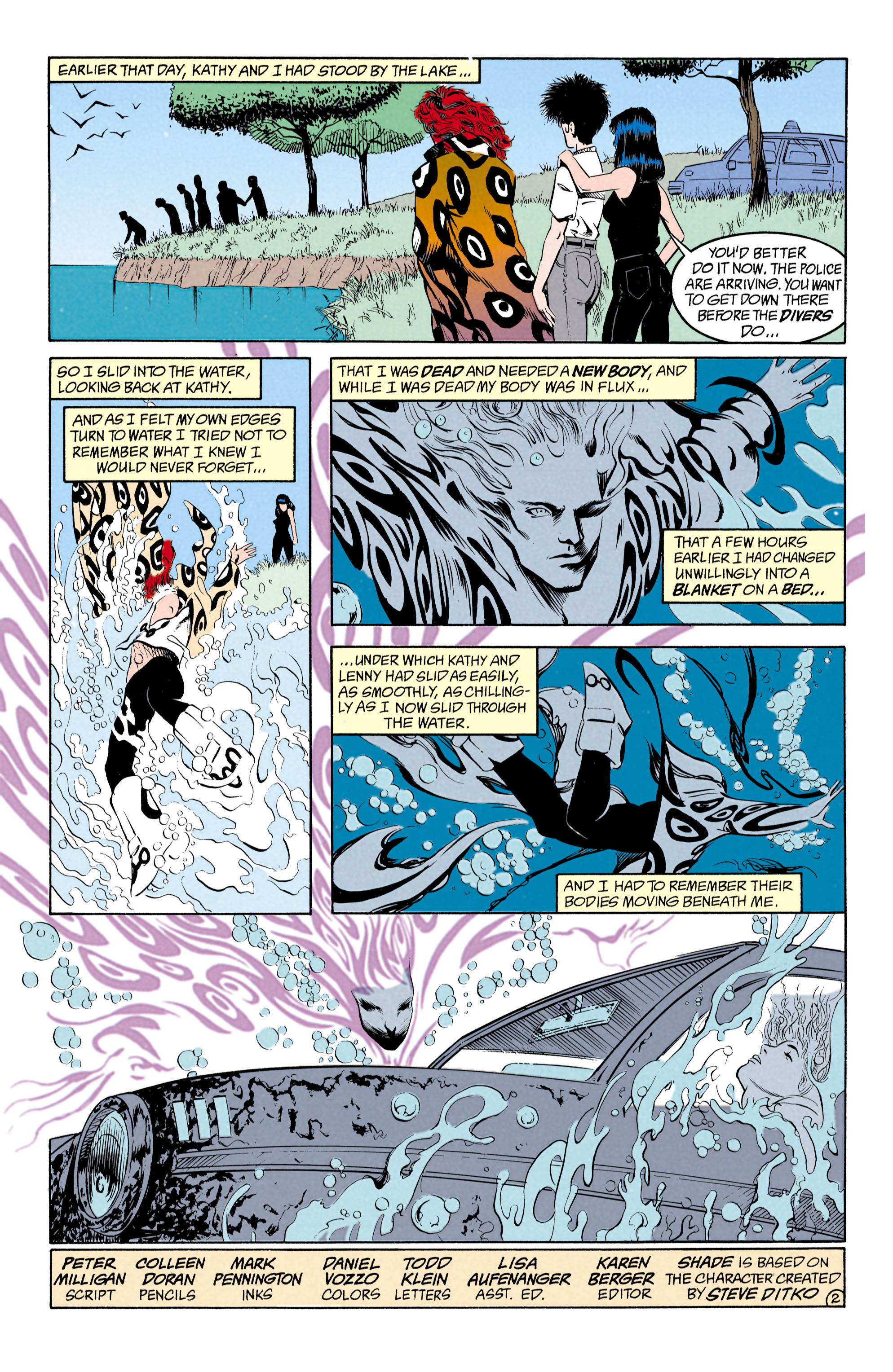 Read online Shade, the Changing Man comic -  Issue #27 - 3
