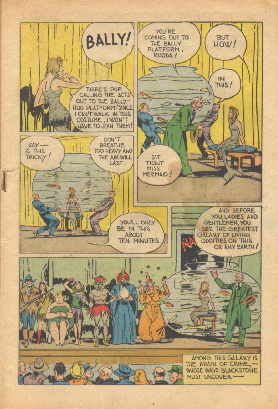 Read online Super-Magician Comics comic -  Issue #37 - 4