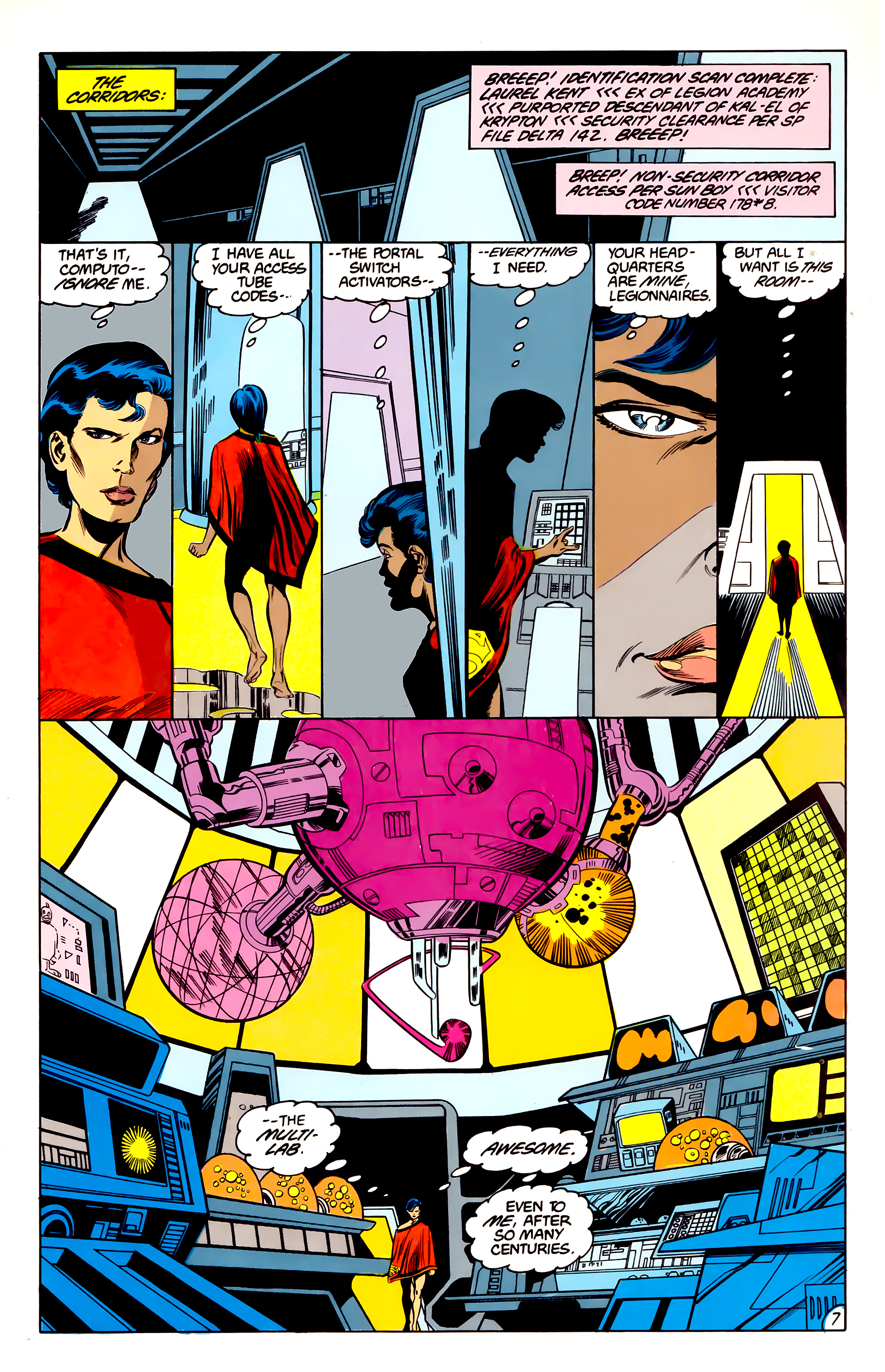 Legion of Super-Heroes (1984) 42 Page 7