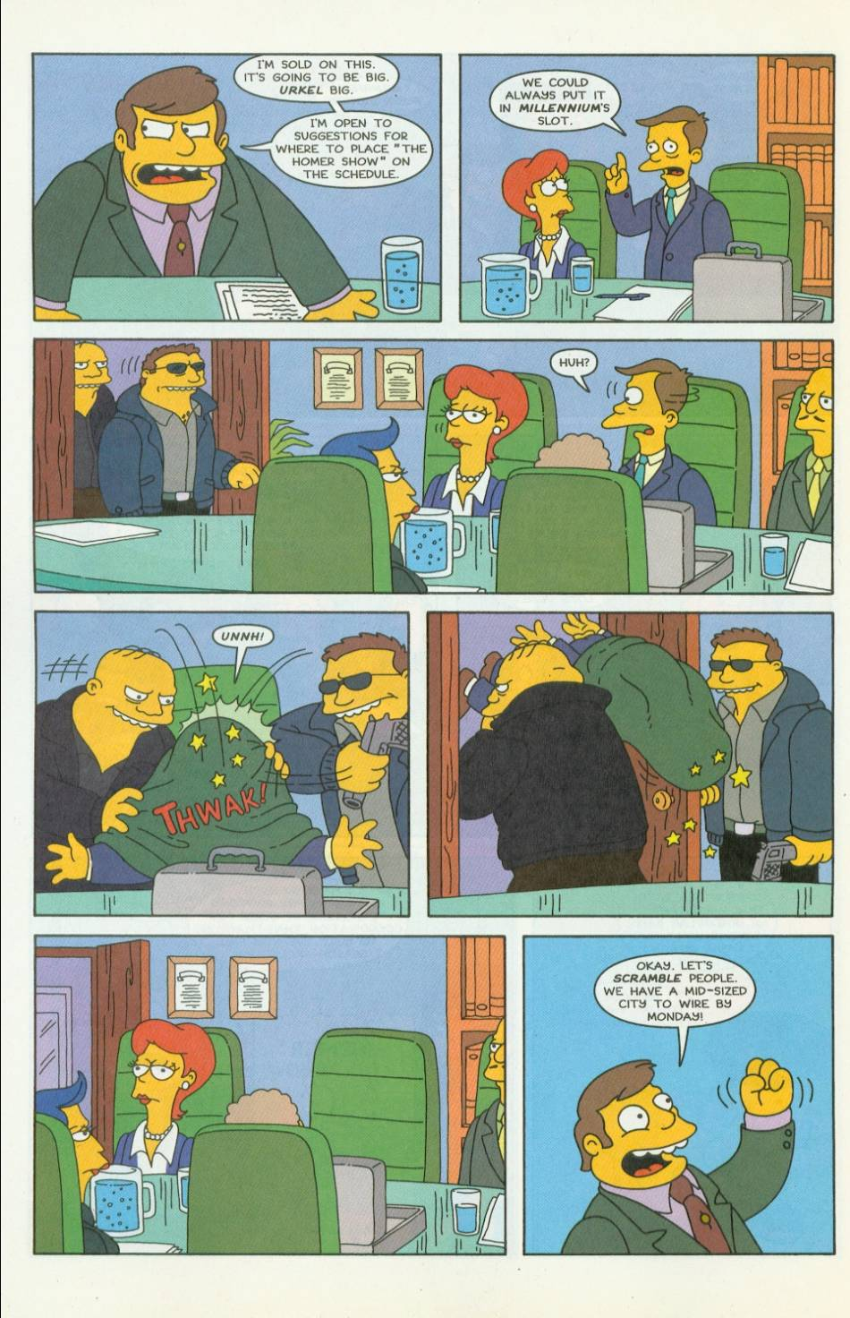 Read online Simpsons Comics comic -  Issue #42 - 5