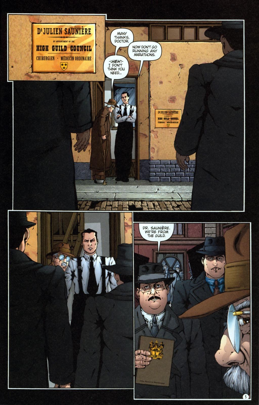 Read online Rex Mundi comic -  Issue #7 - 7