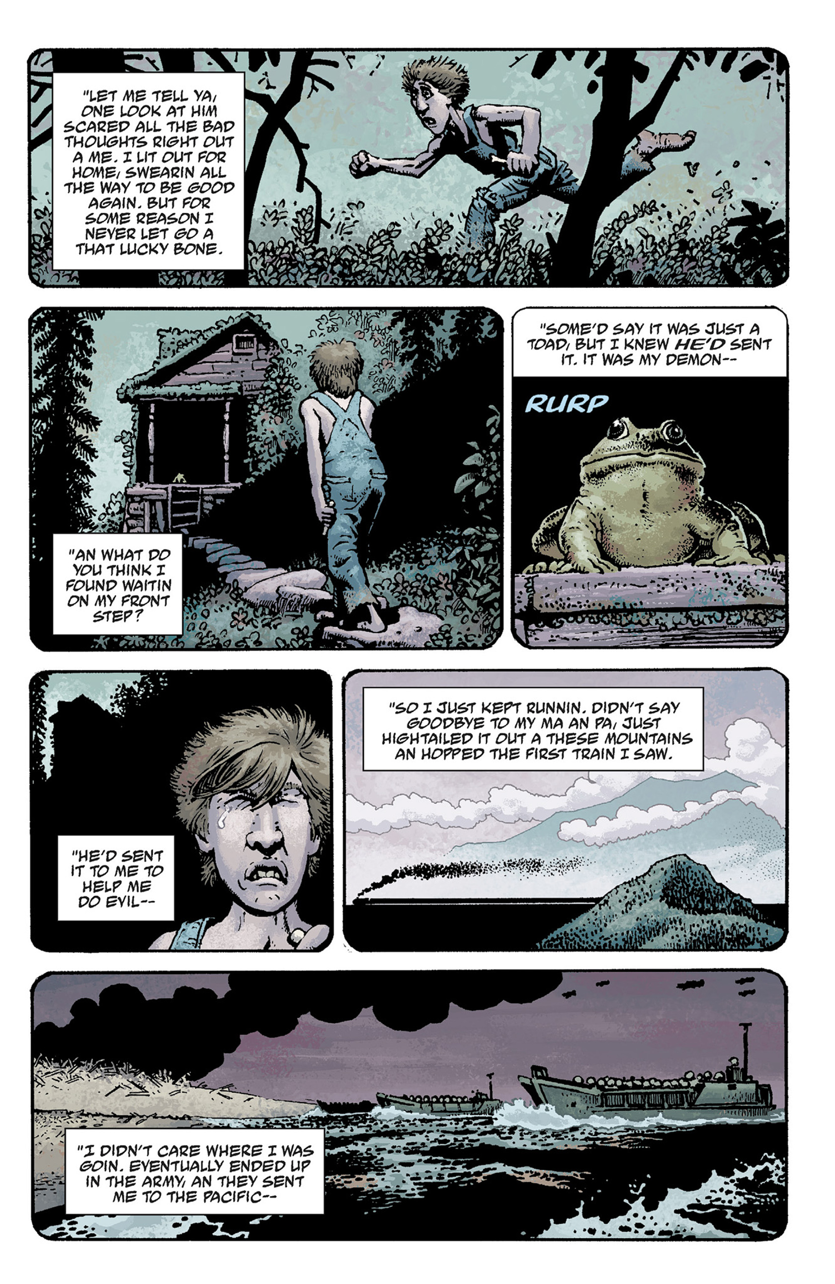 Read online Hellboy: The Crooked Man and Others comic -  Issue # TPB - 23