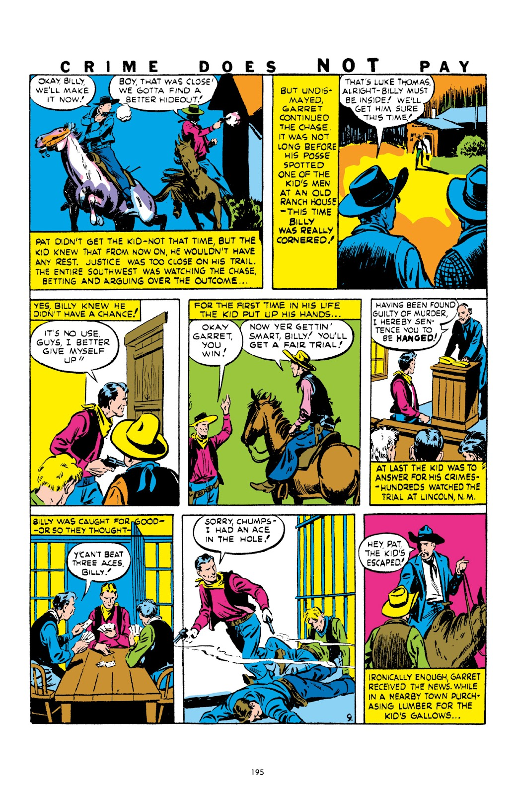 Read online Crime Does Not Pay Archives comic -  Issue # TPB 1 (Part 2) - 98