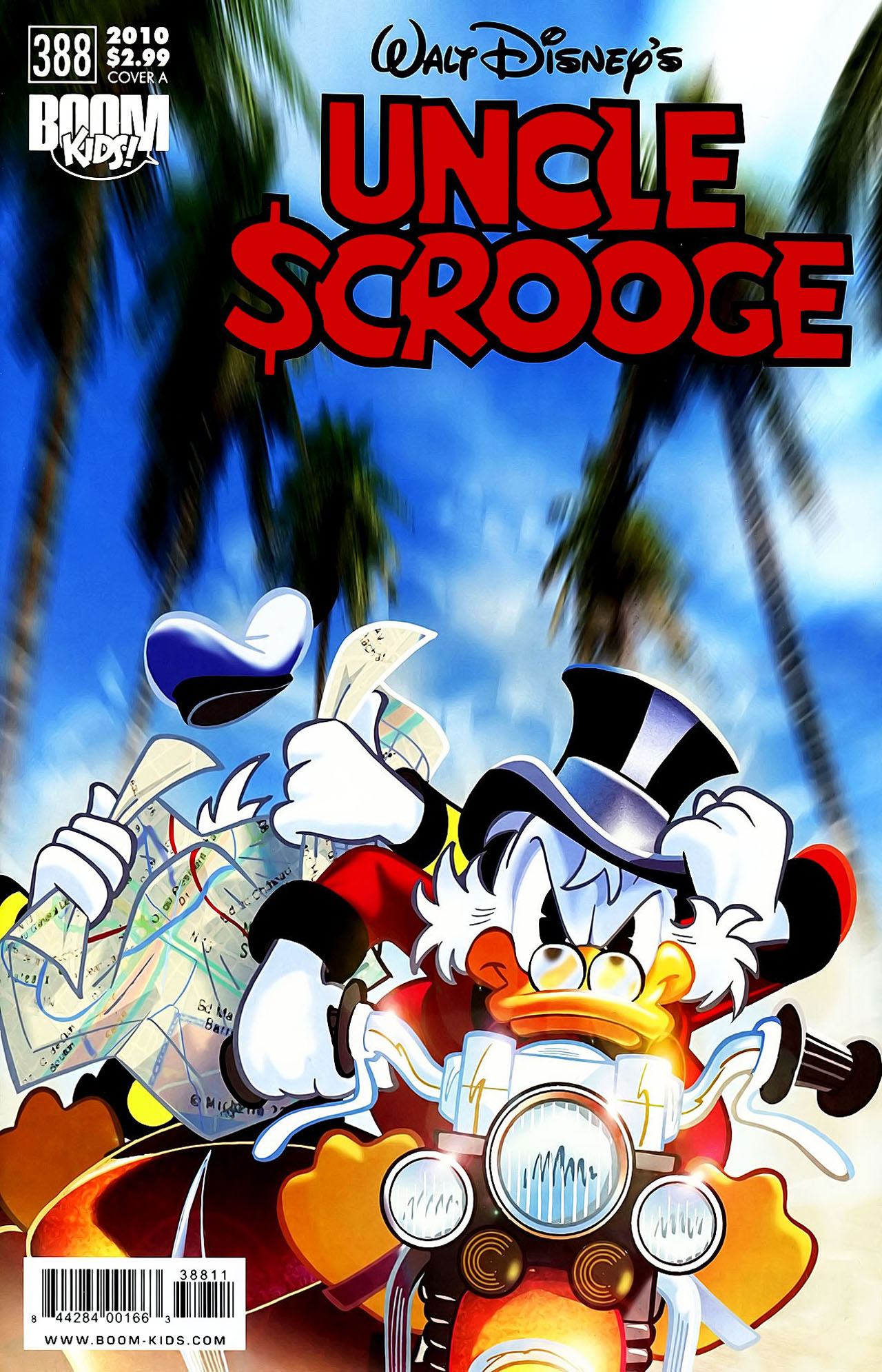 Read online Uncle Scrooge (1953) comic -  Issue #388 - 1