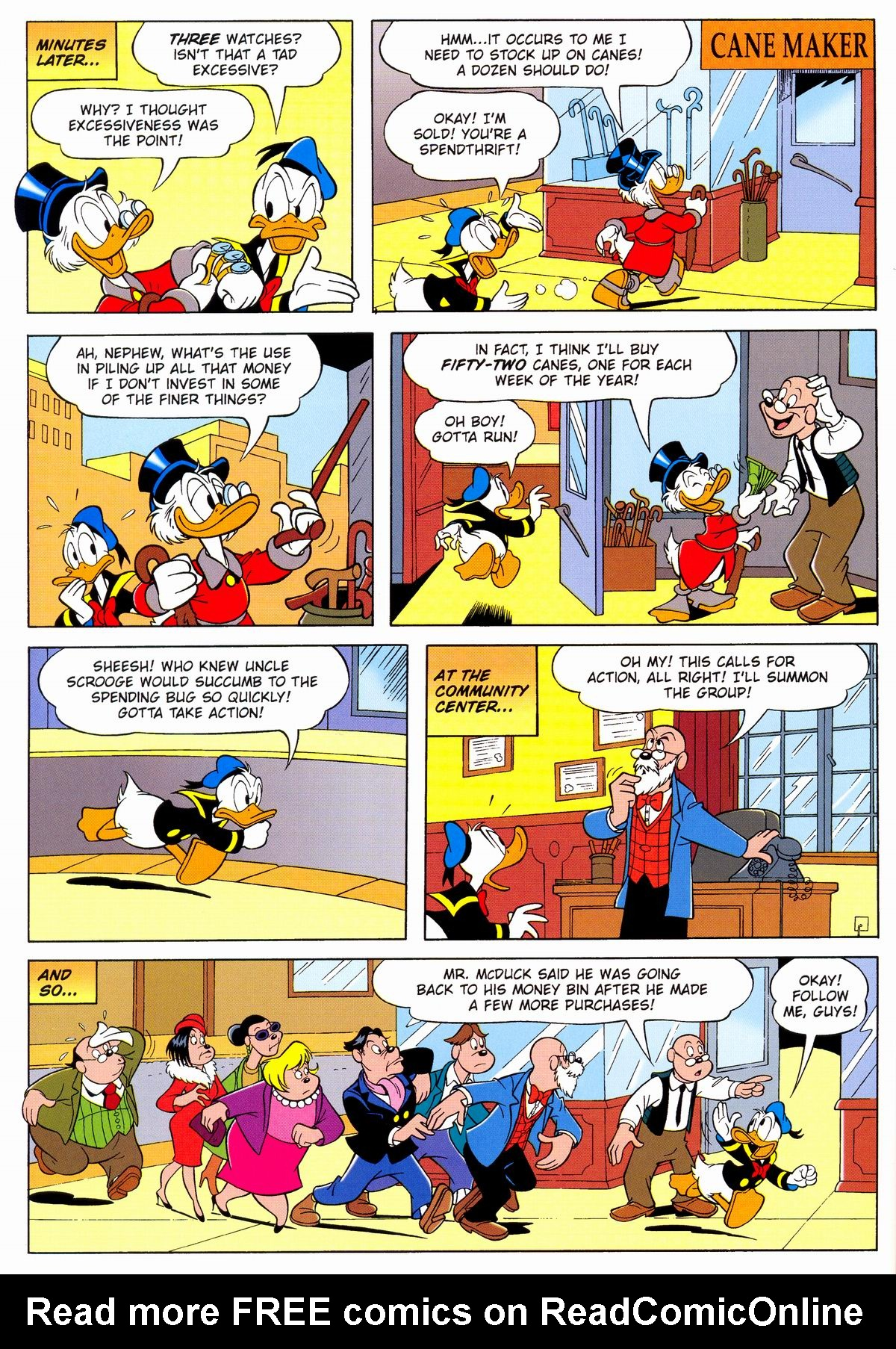 Read online Uncle Scrooge (1953) comic -  Issue #331 - 64