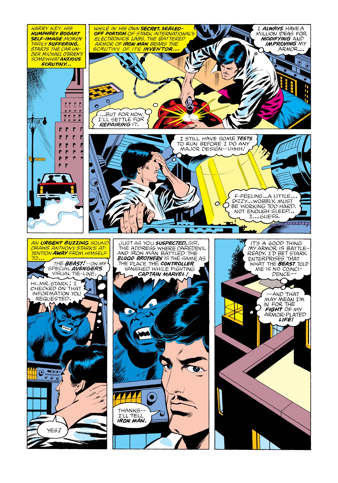 Read online Marvel Masterworks: The Invincible Iron Man comic -  Issue # TPB 11 (Part 3) - 3