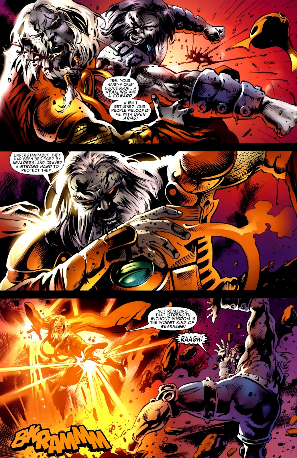 War of Kings: Warriors Issue #1 #1 - English 30