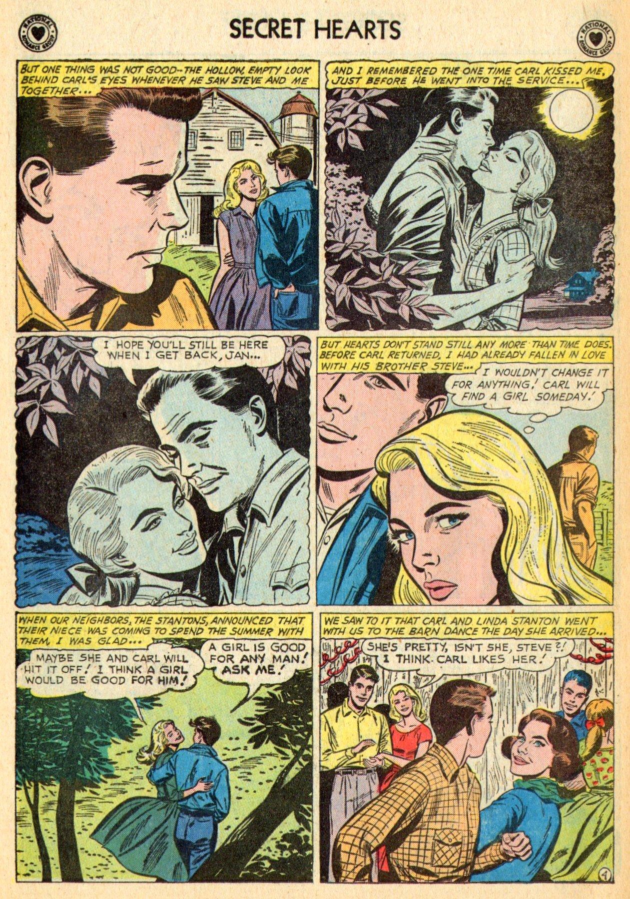 Read online Secret Hearts comic -  Issue #70 - 6