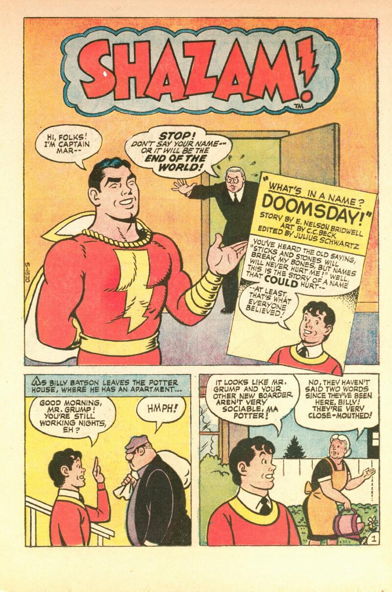 Read online Shazam! (1973) comic -  Issue #7 - 10