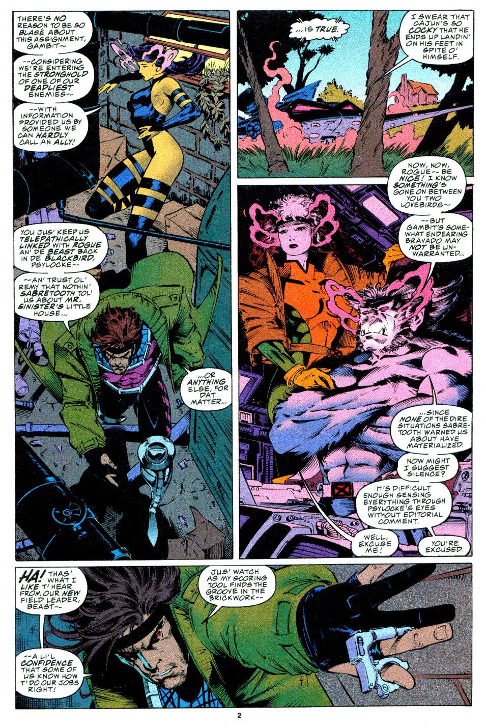 X-Men (1991) 34 Page 2