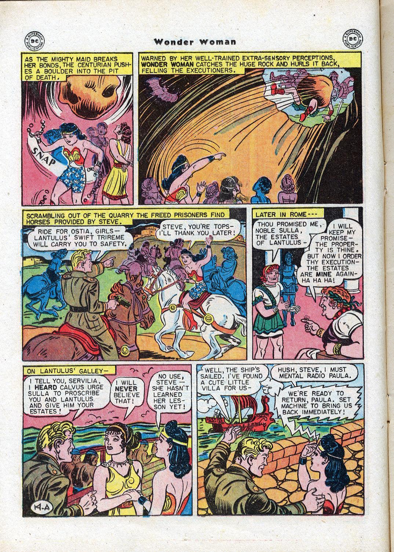 Read online Wonder Woman (1942) comic -  Issue #17 - 16