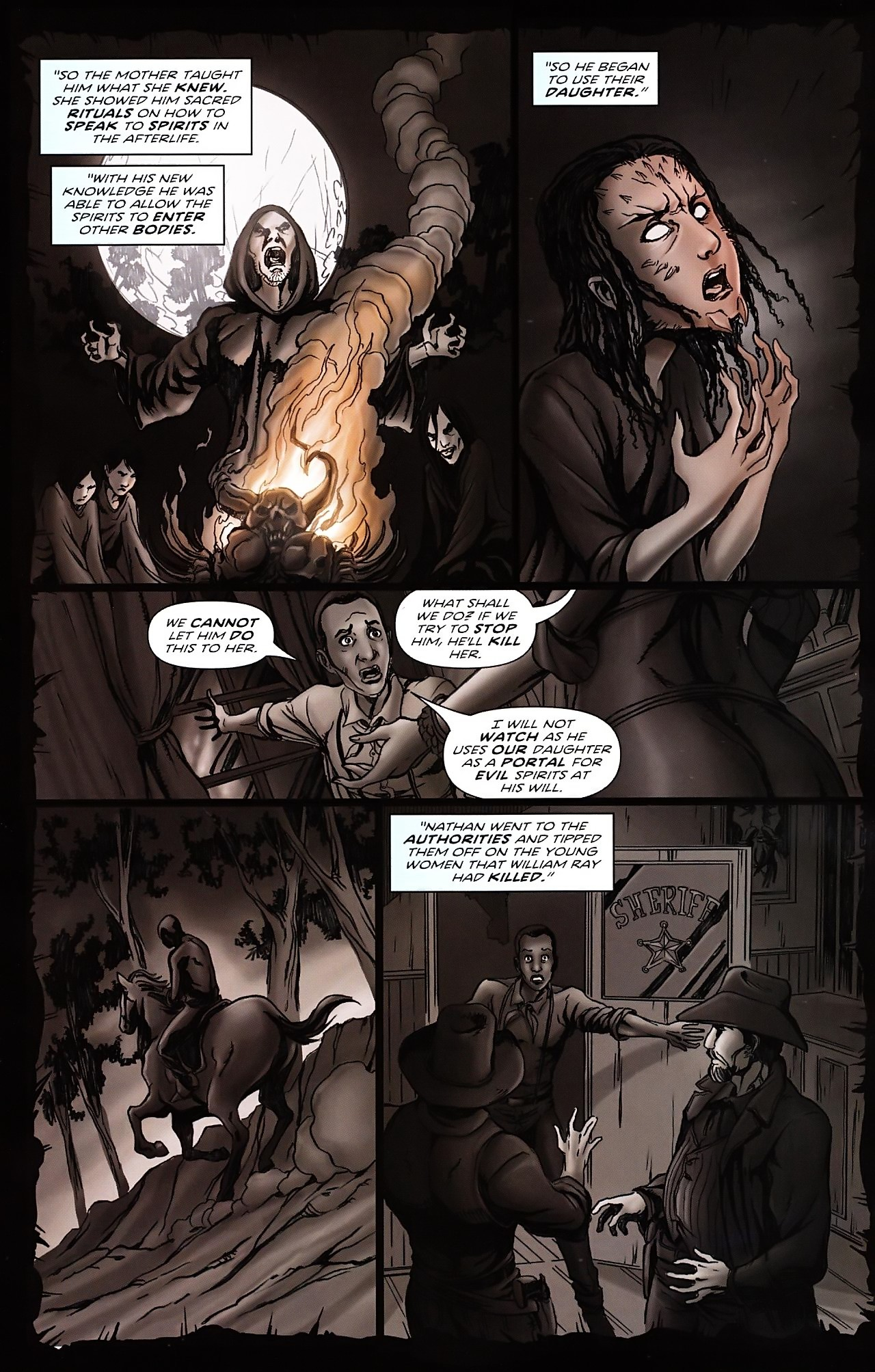 Read online Salem's Daughter: The Haunting comic -  Issue #4 - 19