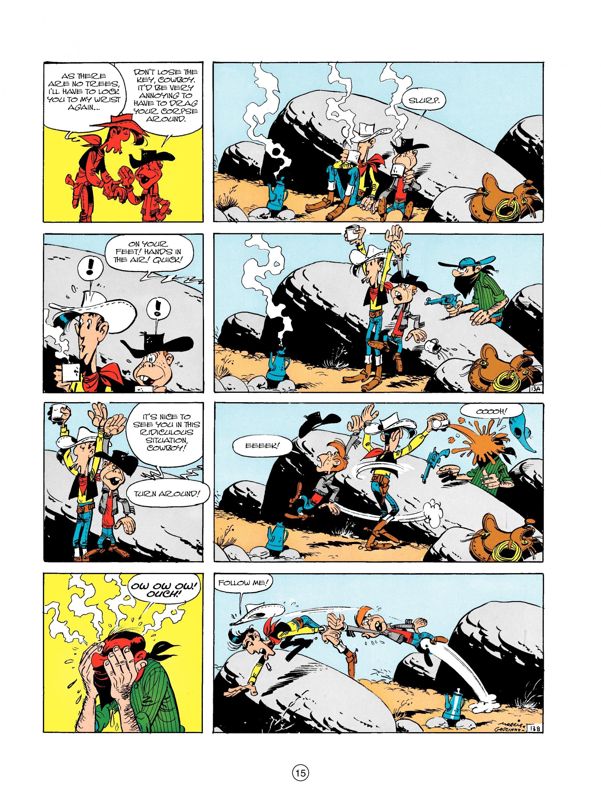 Read online A Lucky Luke Adventure comic -  Issue #18 - 15