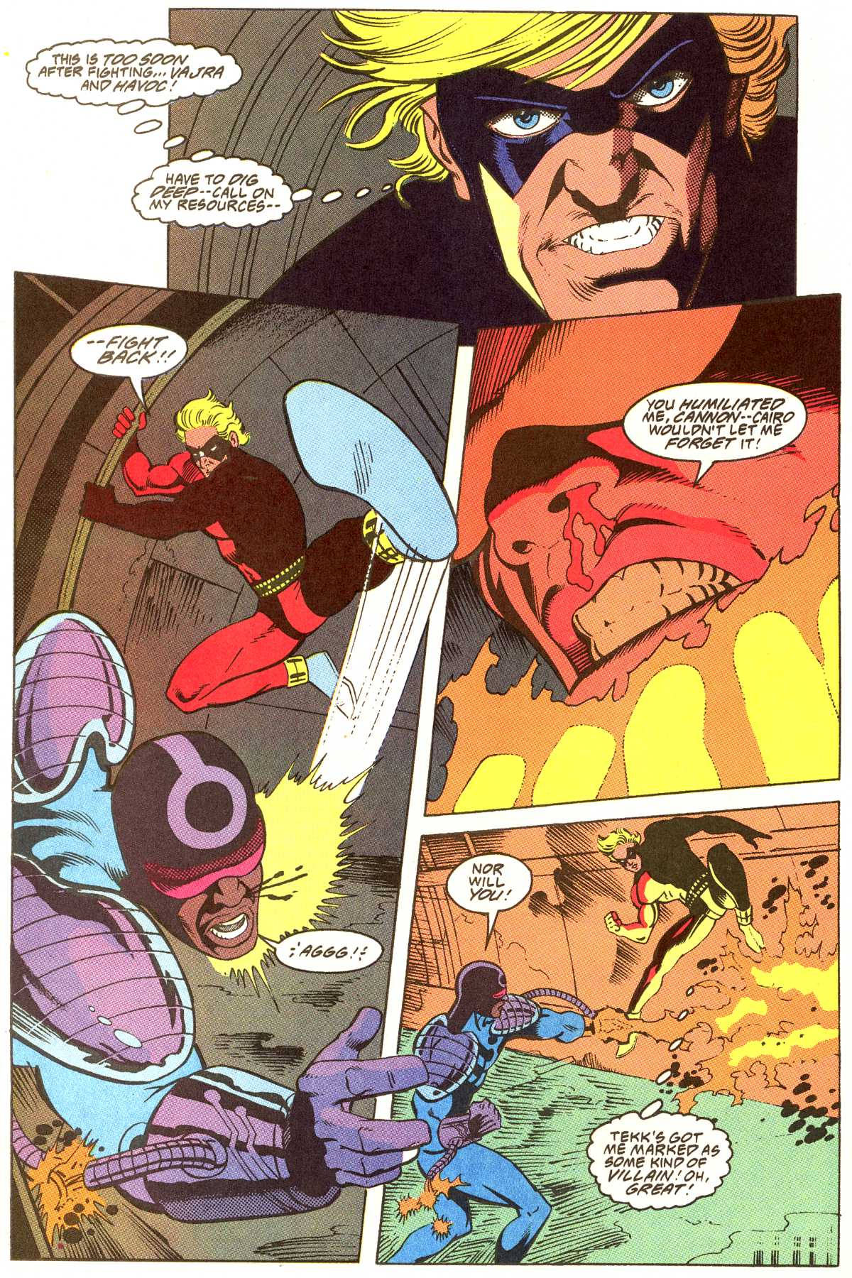 Read online Peter Cannon--Thunderbolt (1992) comic -  Issue #12 - 16