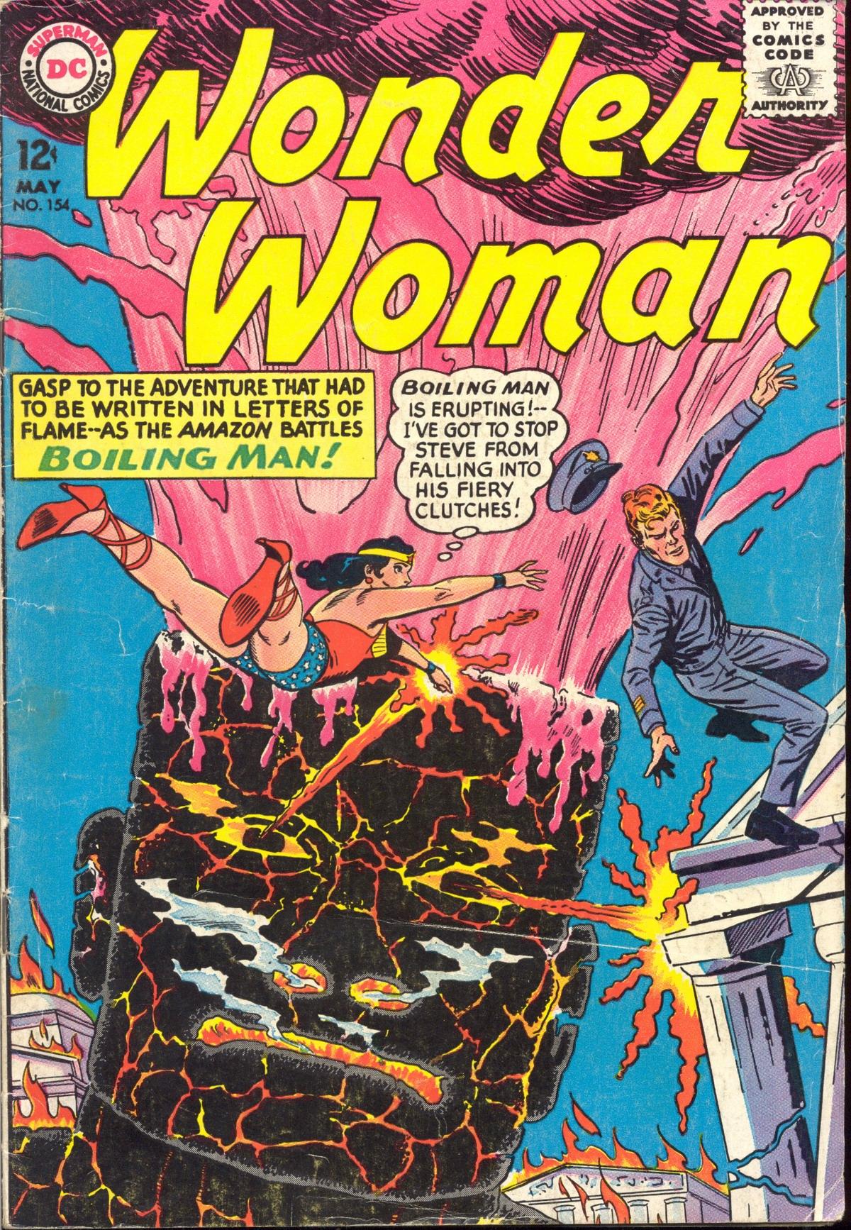 Read online Wonder Woman (1942) comic -  Issue #154 - 1