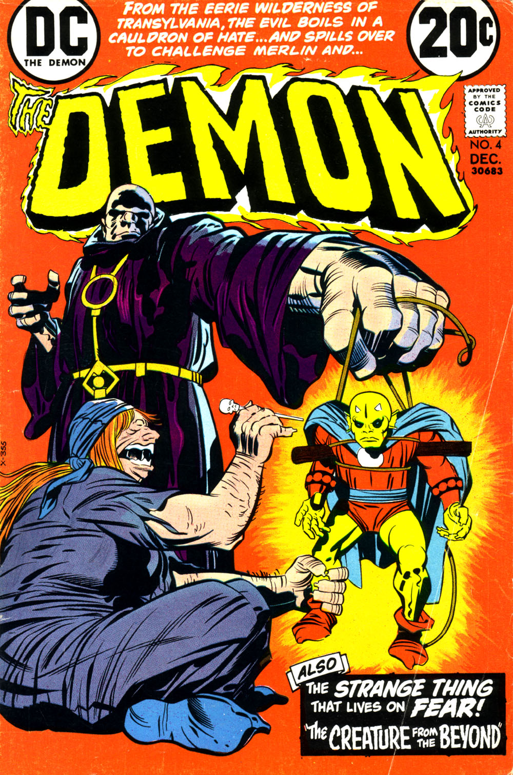 The Demon (1972) 4 Page 1