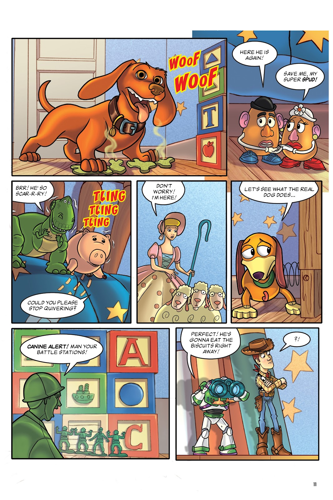 Read online DISNEY·PIXAR Toy Story Adventures comic -  Issue # TPB 1 (Part 1) - 11