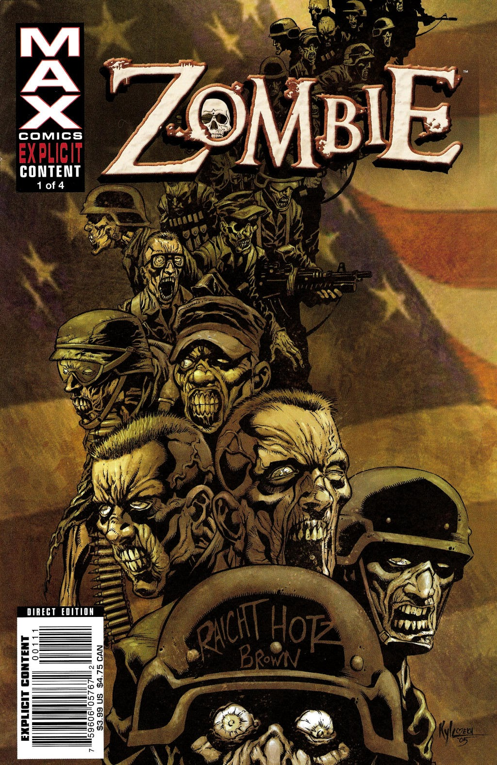 Read online Zombie (2006) comic -  Issue #1 - 1