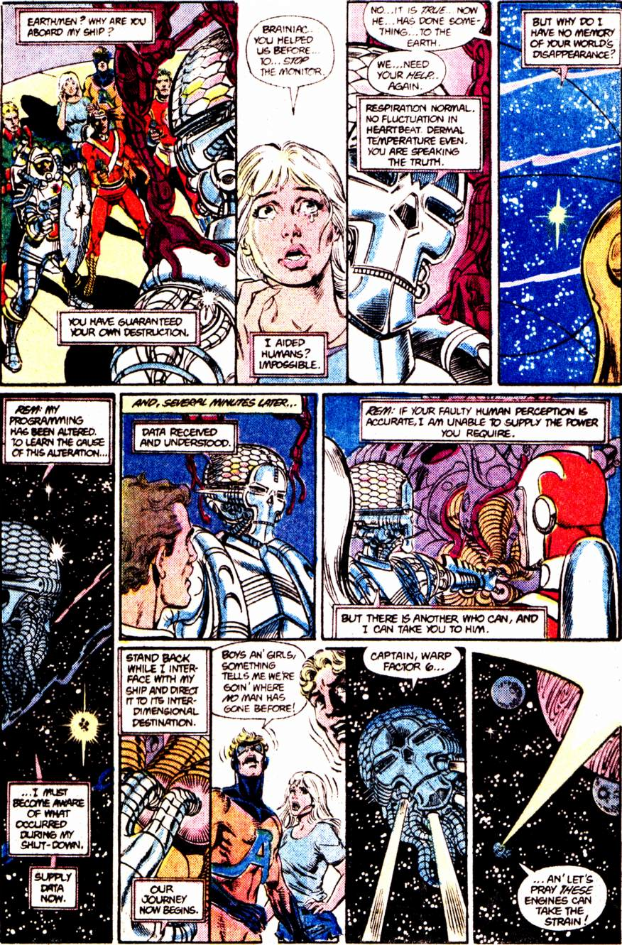 Crisis on Infinite Earths (1985) 12 Page 3