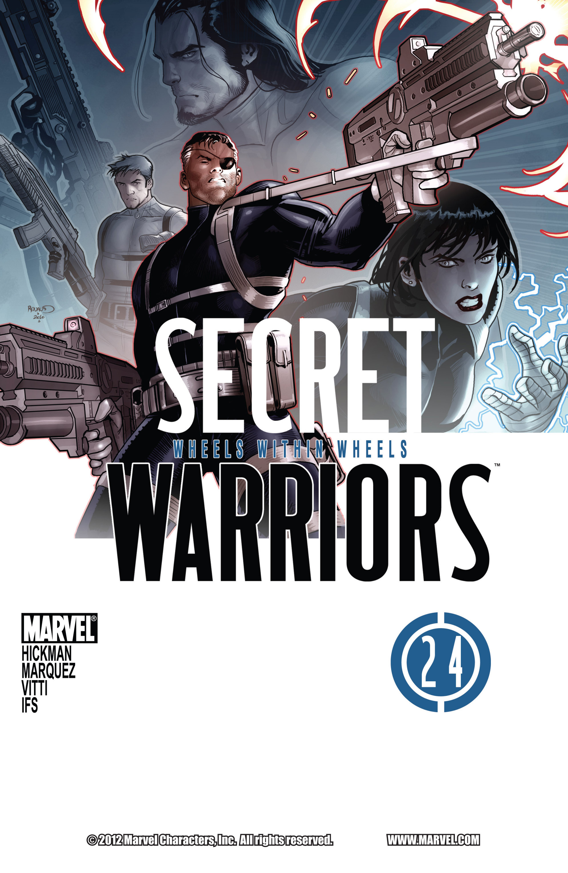 Read online Secret Warriors comic -  Issue #24 - 2