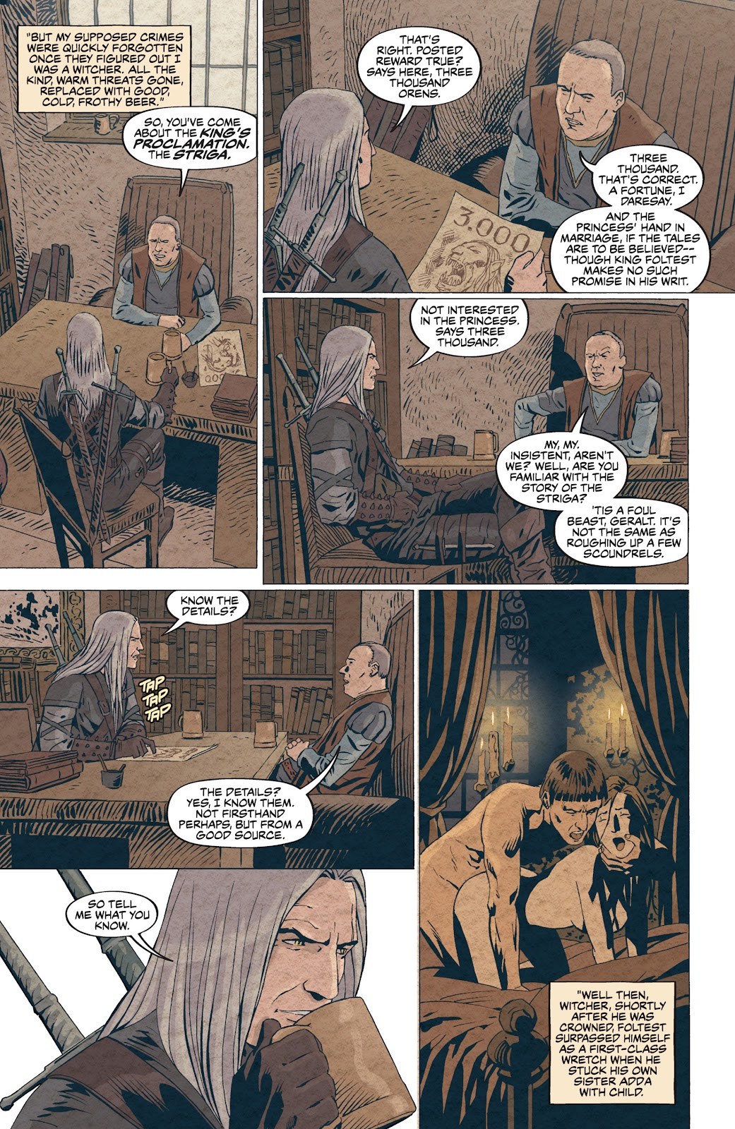 Read online The Witcher Omnibus comic -  Issue # TPB (Part 4) - 9