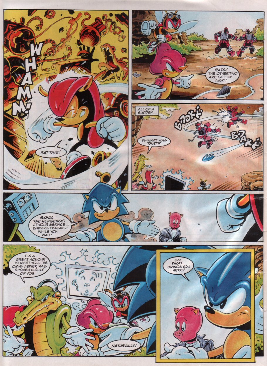 Read online Sonic the Comic comic -  Issue #67 - 8