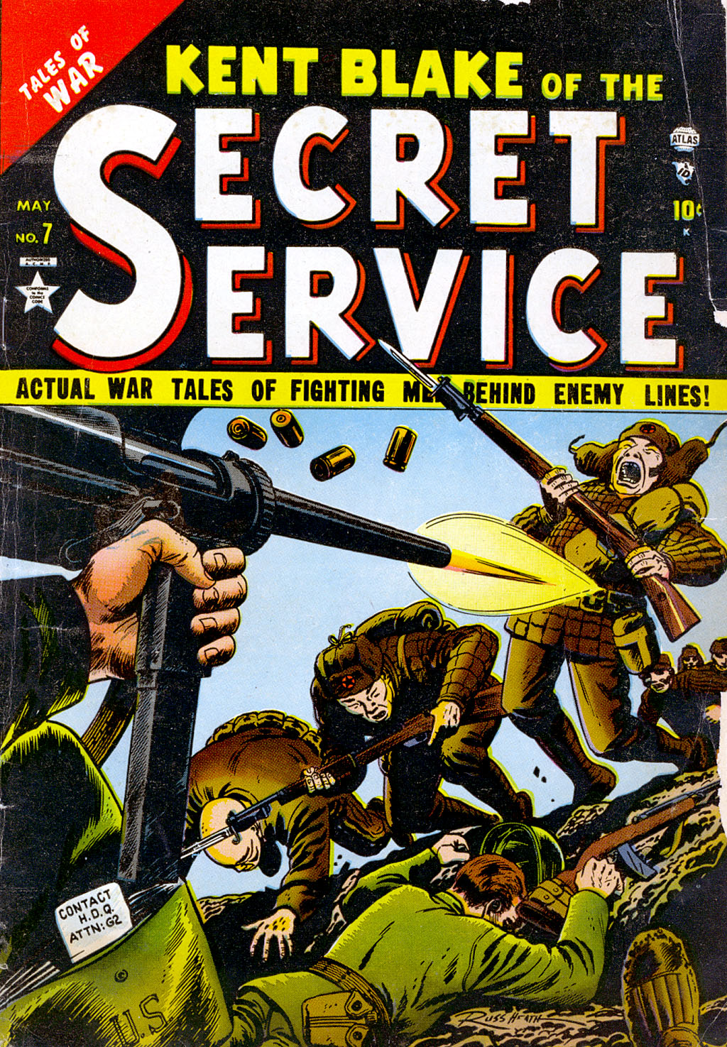 Kent Blake of the Secret Service issue 7 - Page 1