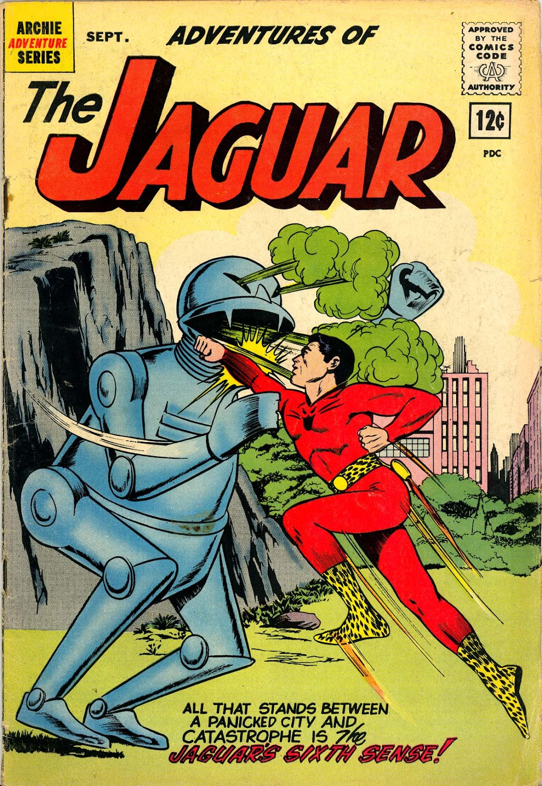 Adventures of the Jaguar issue 8 - Page 1