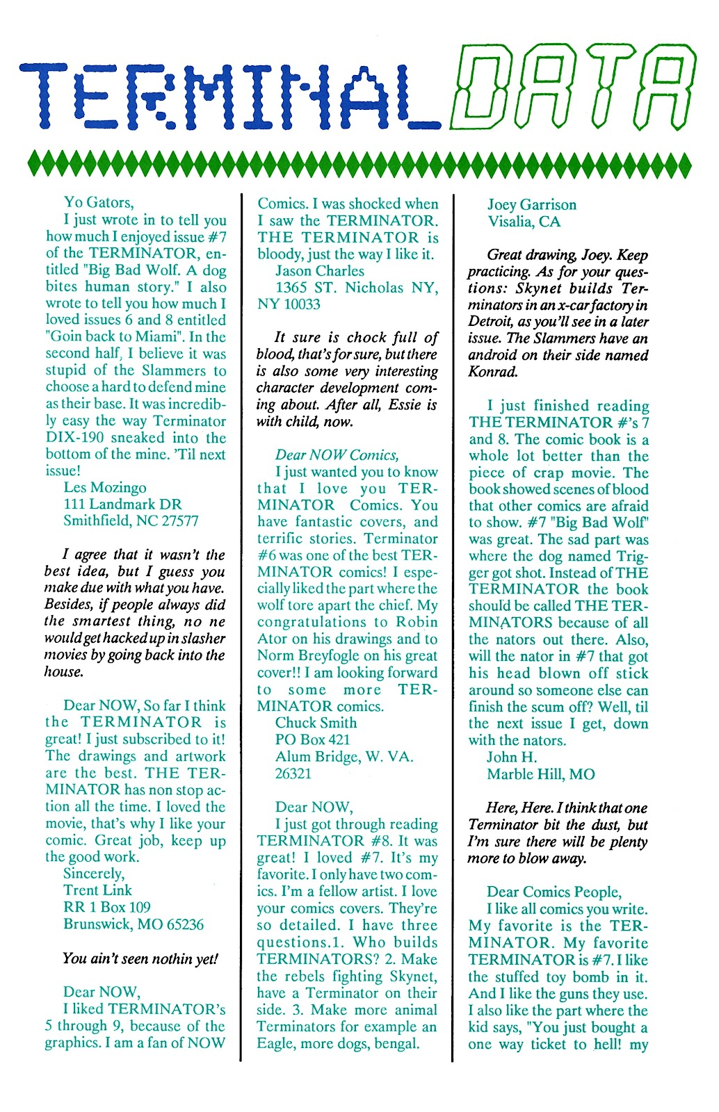 The Terminator (1988) issue 11 - Page 30
