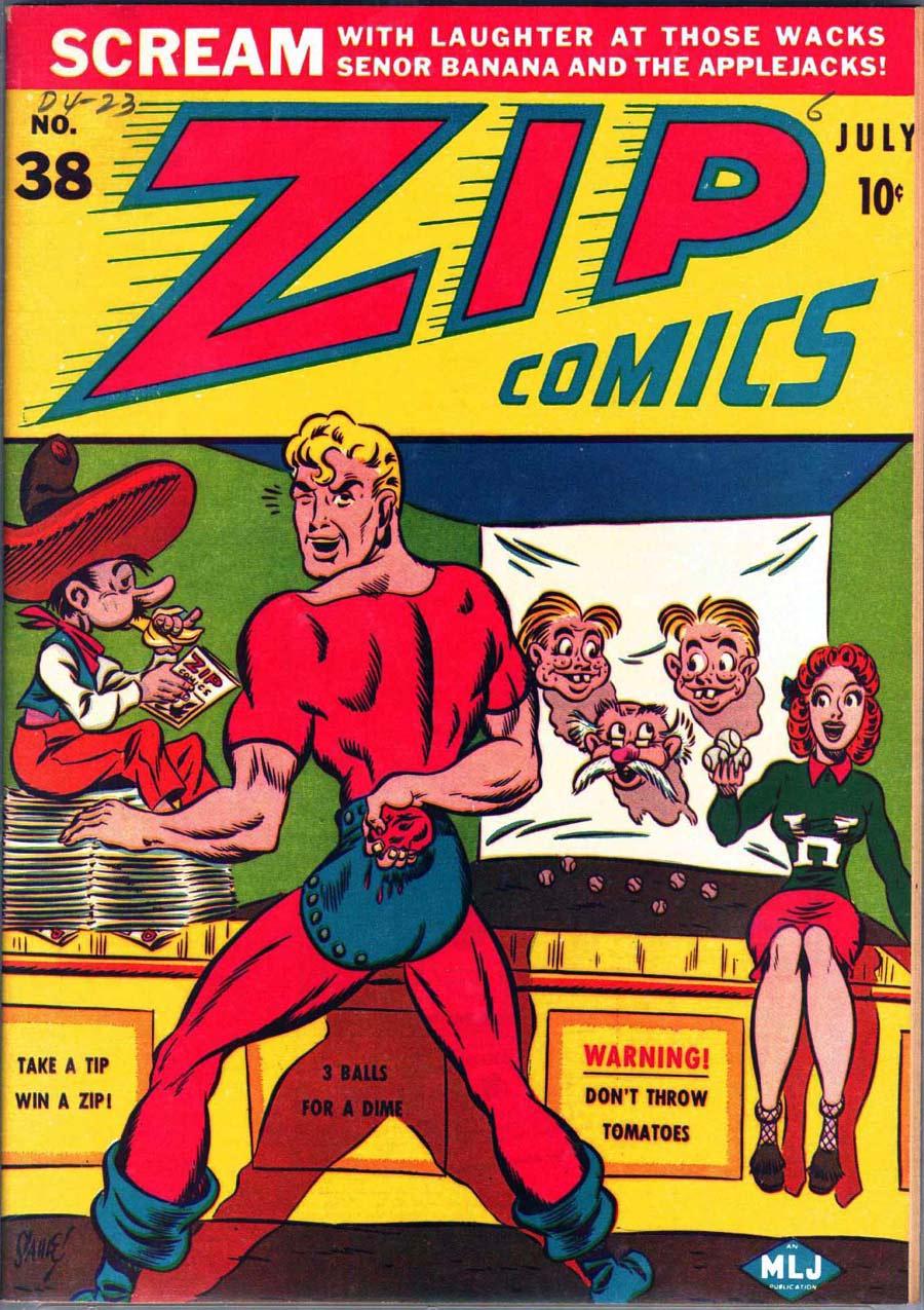 Zip Comics 38 Page 1