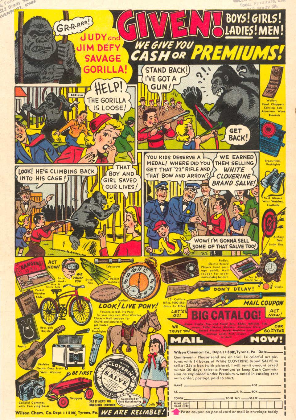 Read online Adventure Comics (1938) comic -  Issue #212 - 36