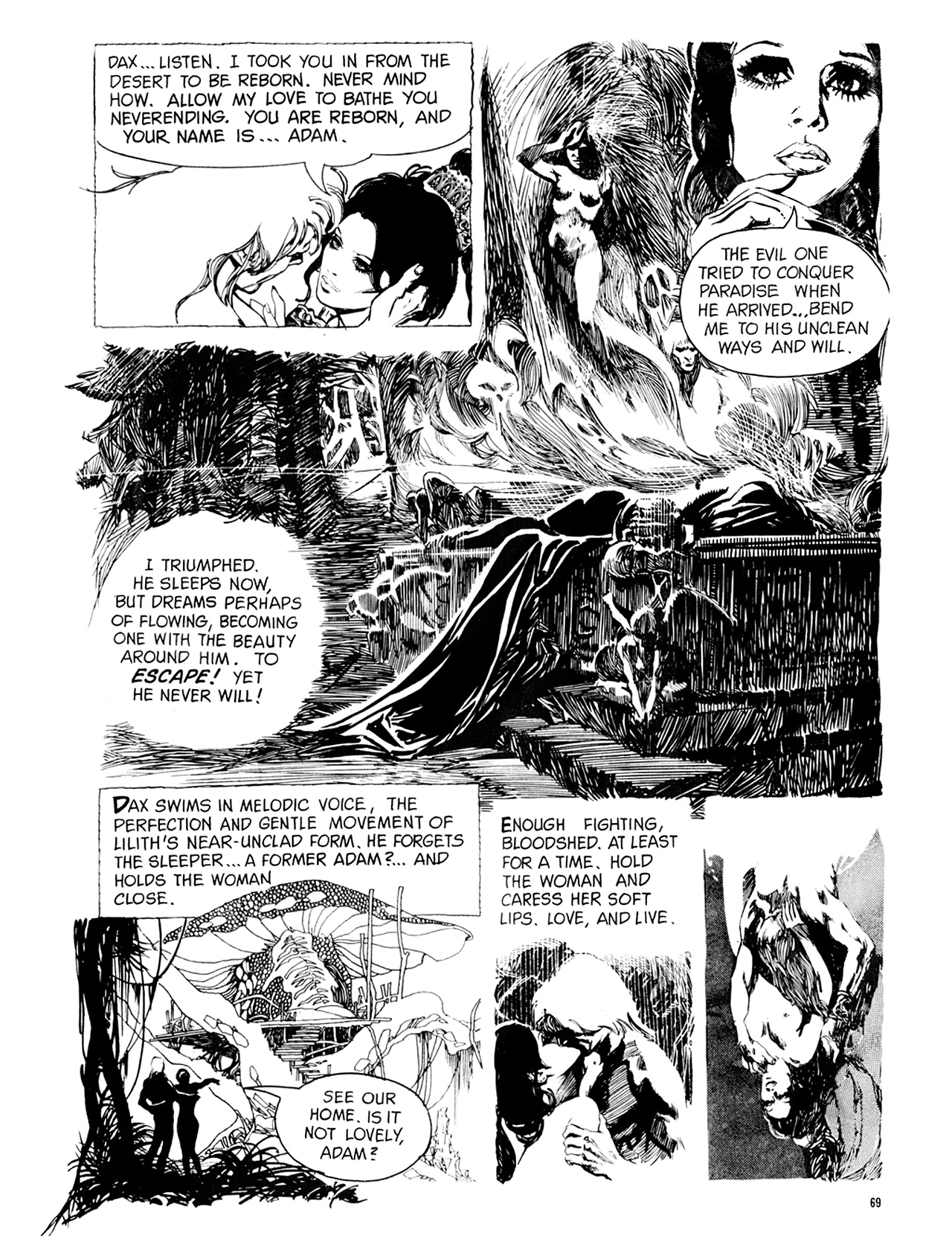 Read online Eerie Archives comic -  Issue # TPB 9 - 70