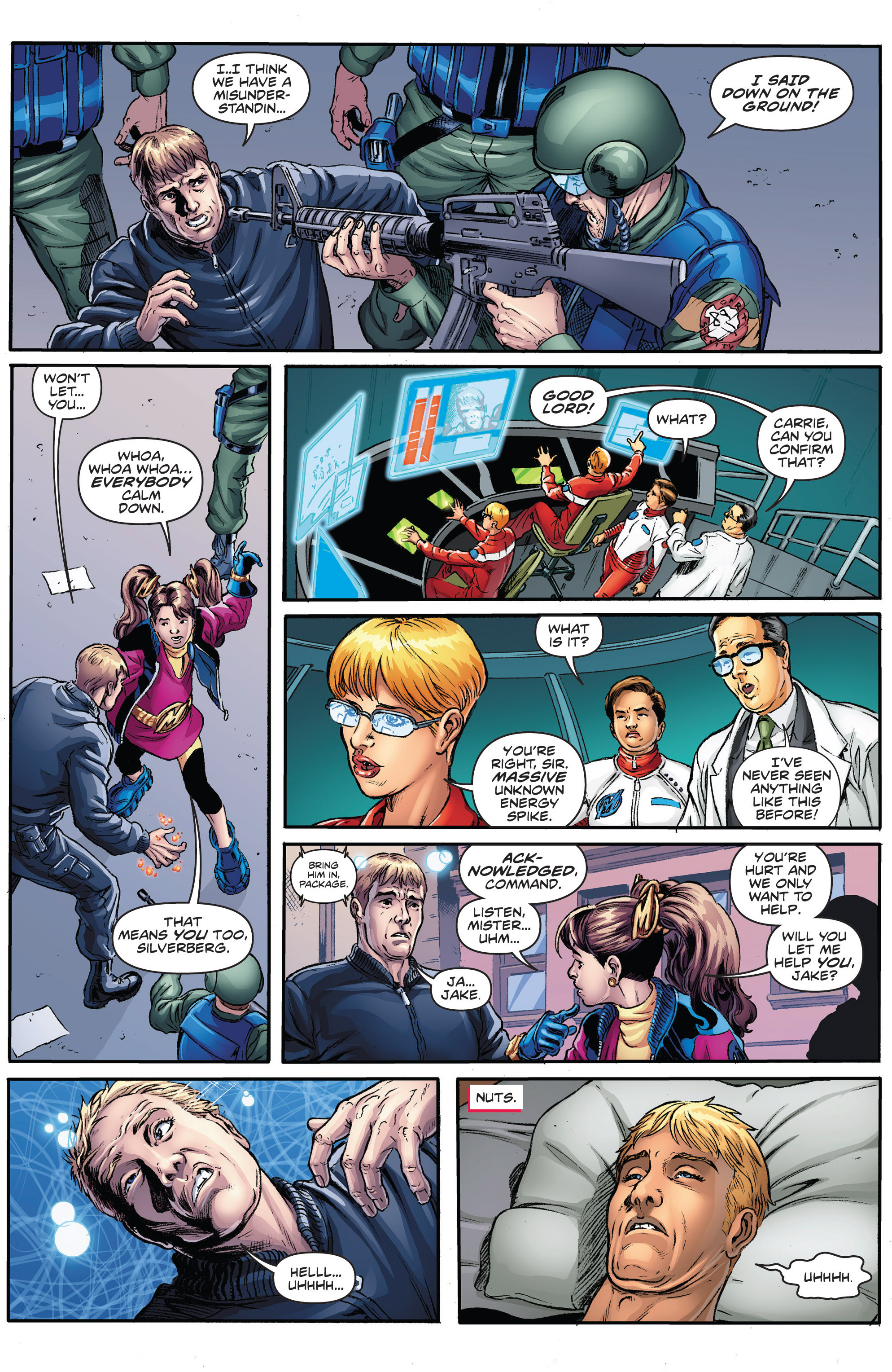 Read online Actionverse comic -  Issue #2 - 5