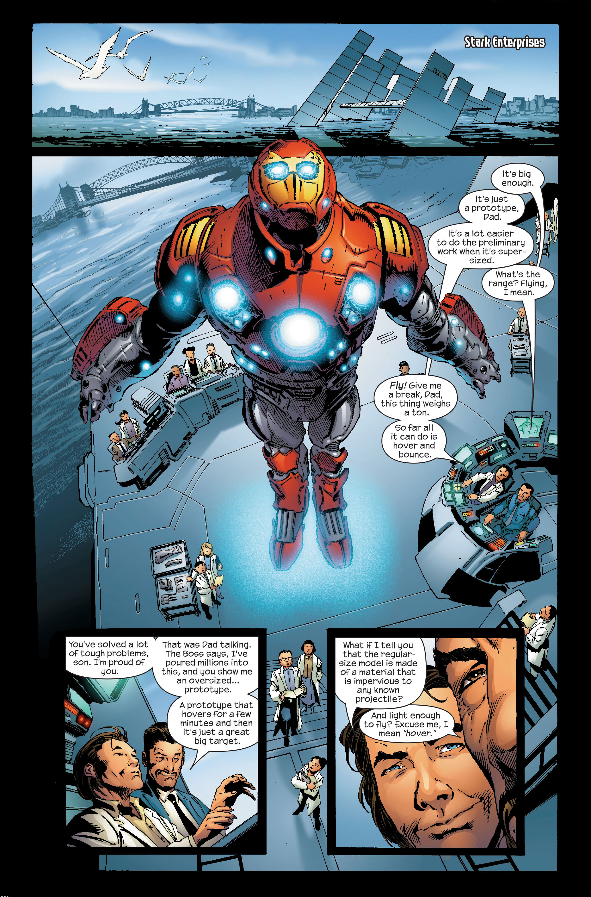 Read online Ultimate Iron Man (2005) comic -  Issue #5 - 4