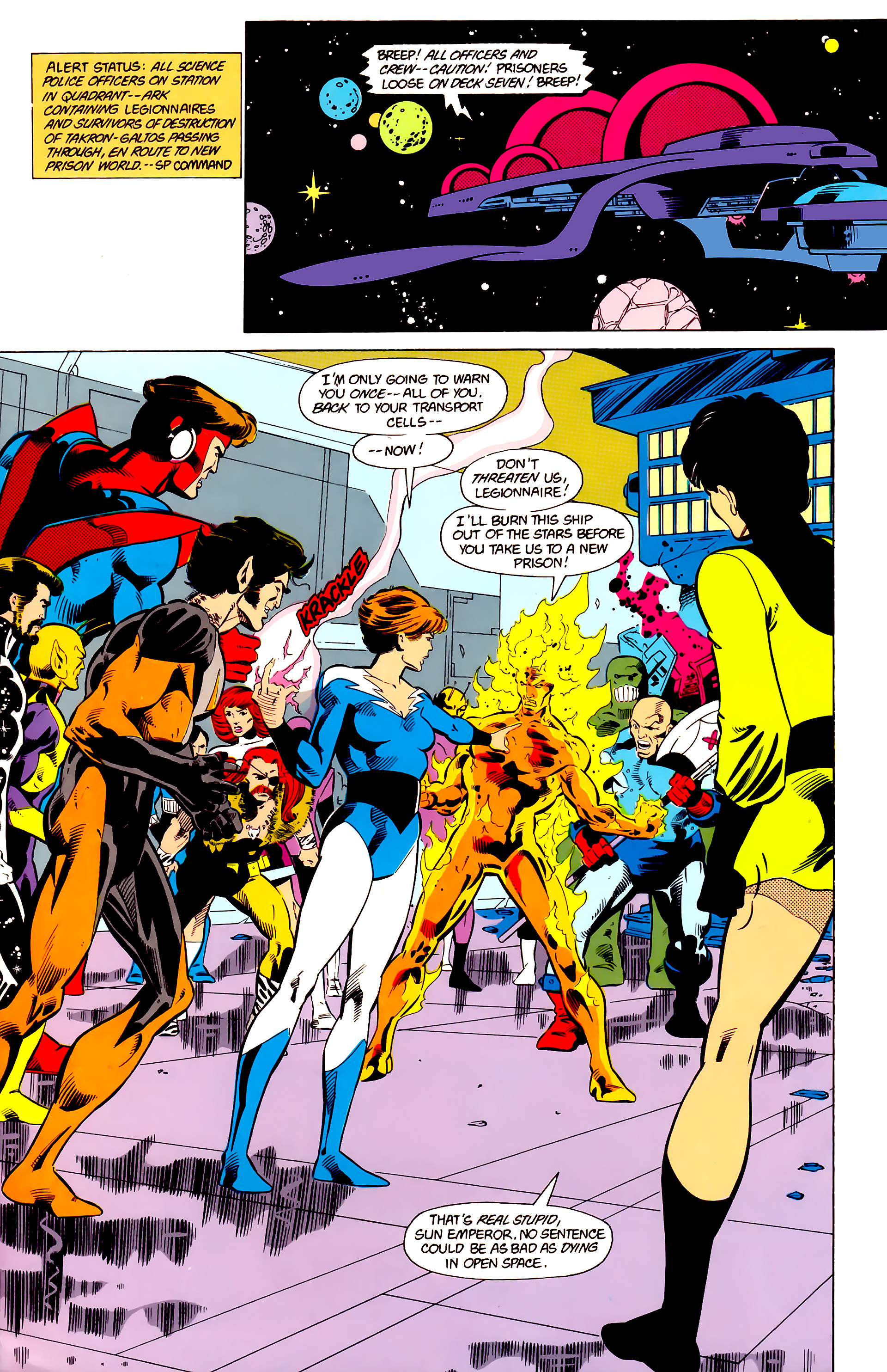 Legion of Super-Heroes (1984) 21 Page 5