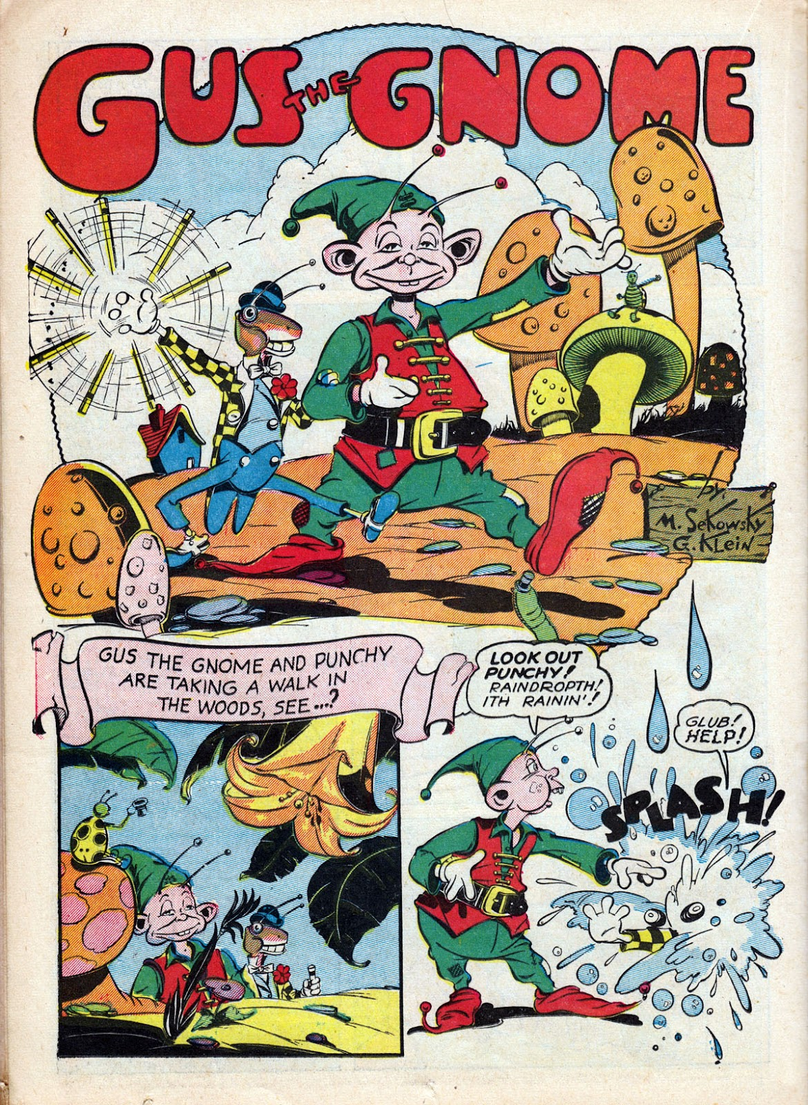 Read online Comedy Comics (1942) comic -  Issue #12 - 40