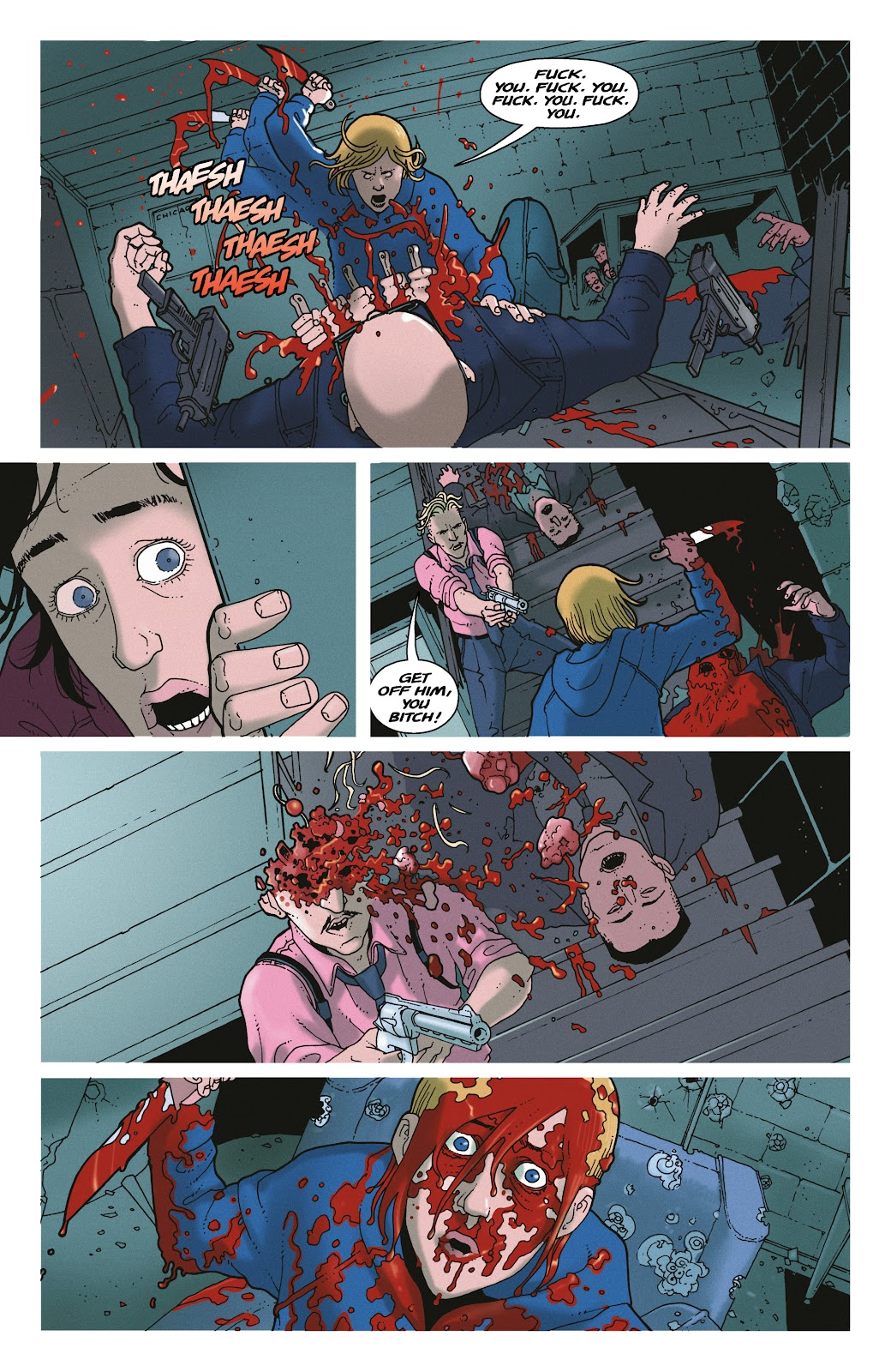 Read online She Could Fly comic -  Issue # _TPB - 129