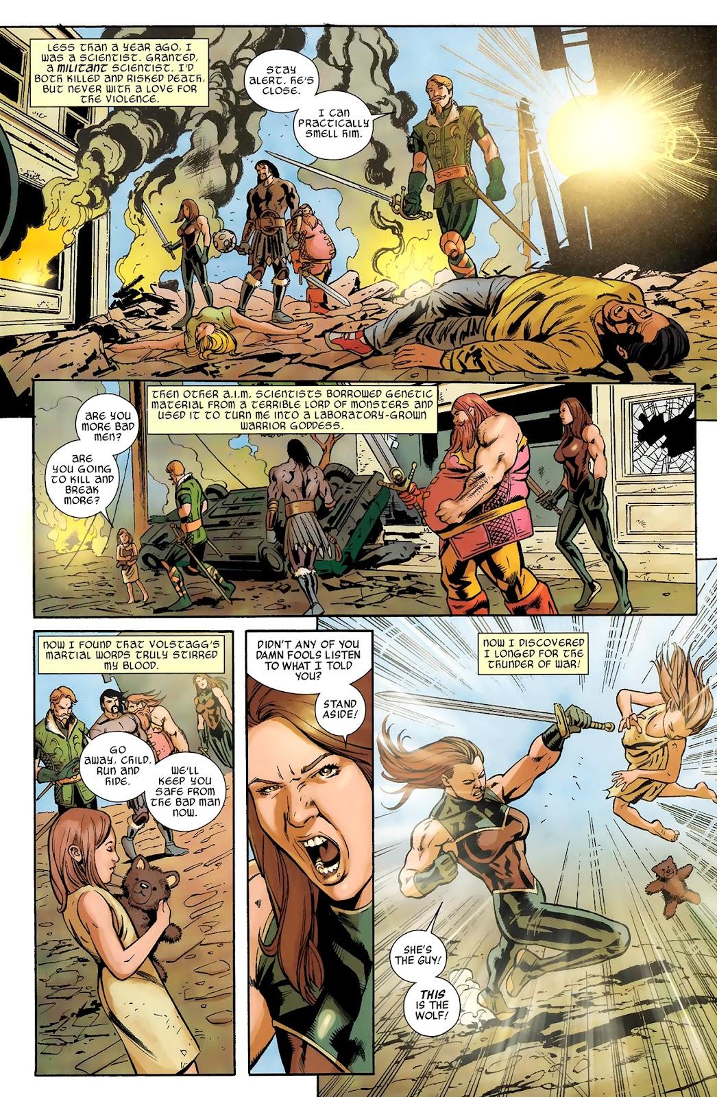 Warriors Three Issue #4 #4 - English 5