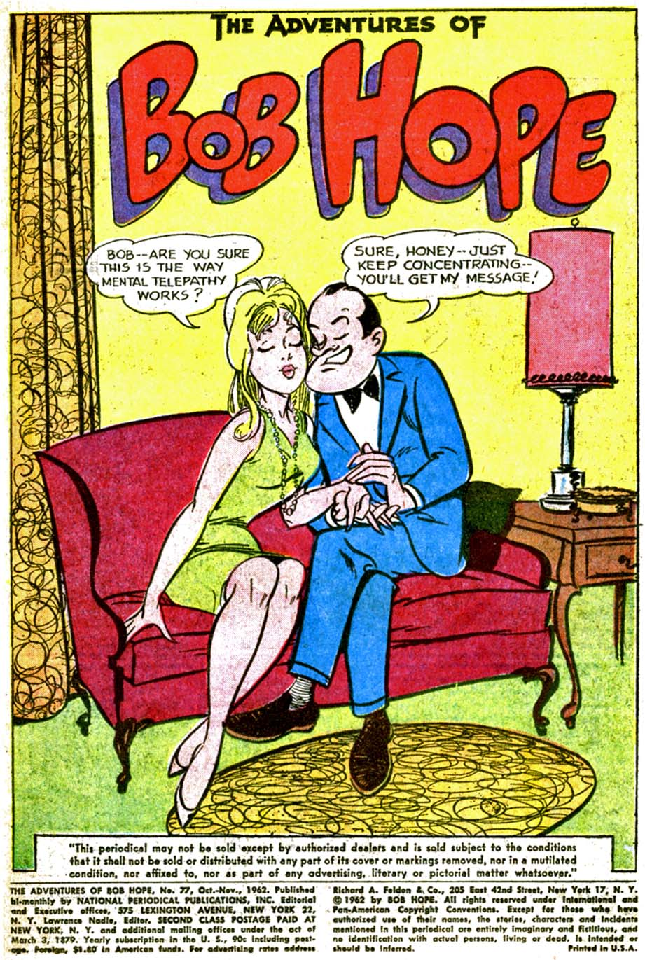 The Adventures of Bob Hope issue 77 - Page 3
