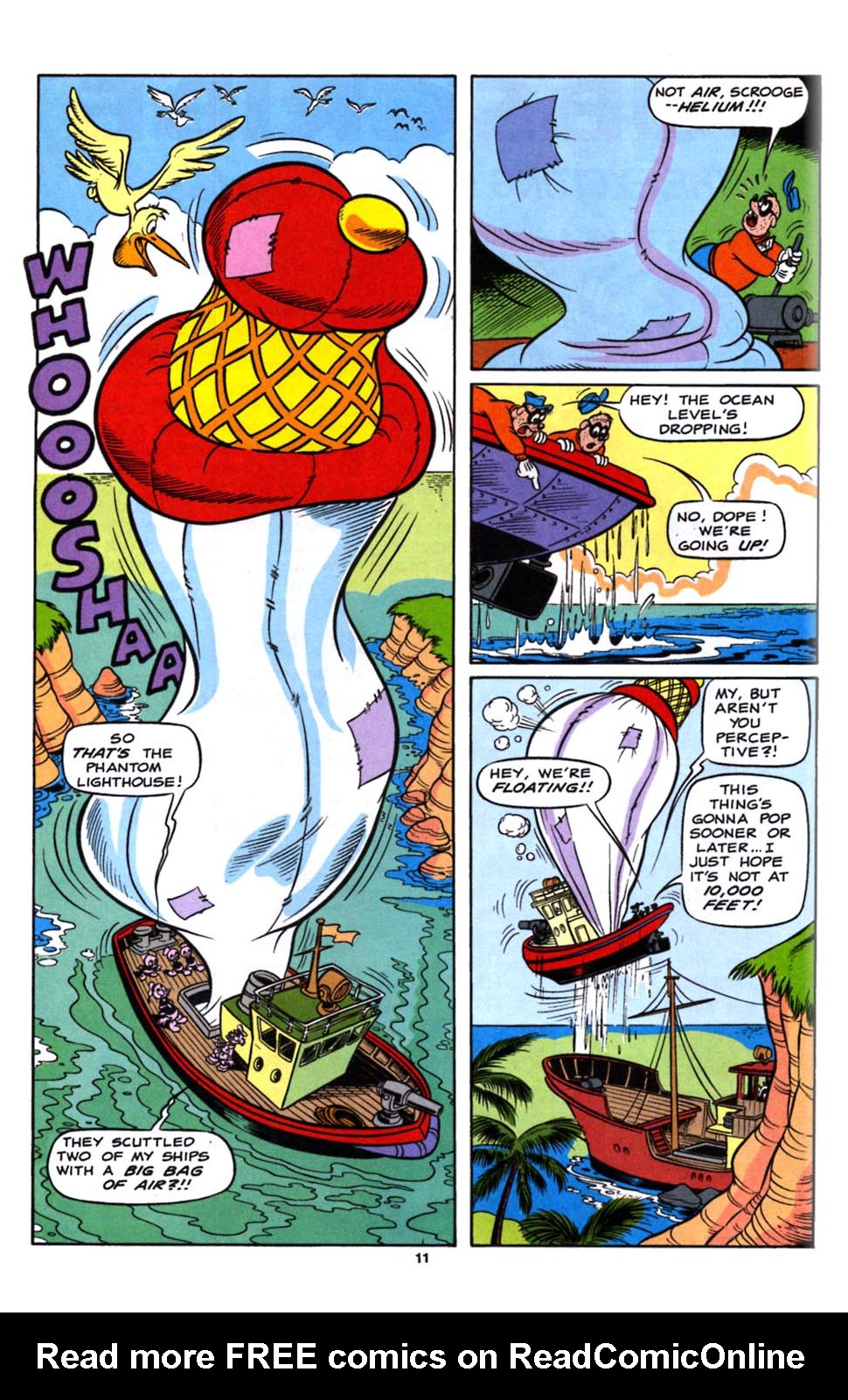 Read online Uncle Scrooge (1953) comic -  Issue #245 - 13