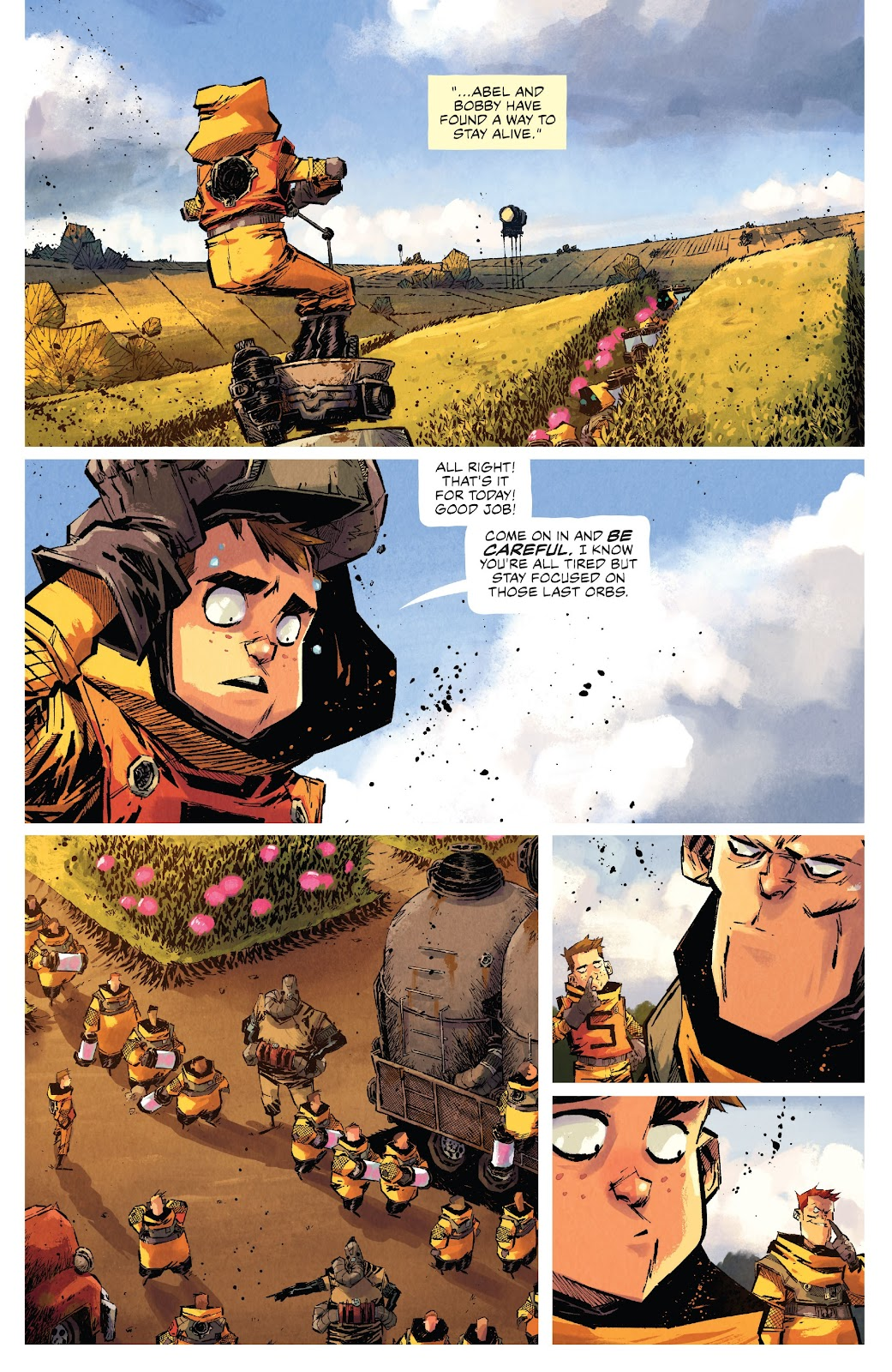 Read online Middlewest comic -  Issue #15 - 17