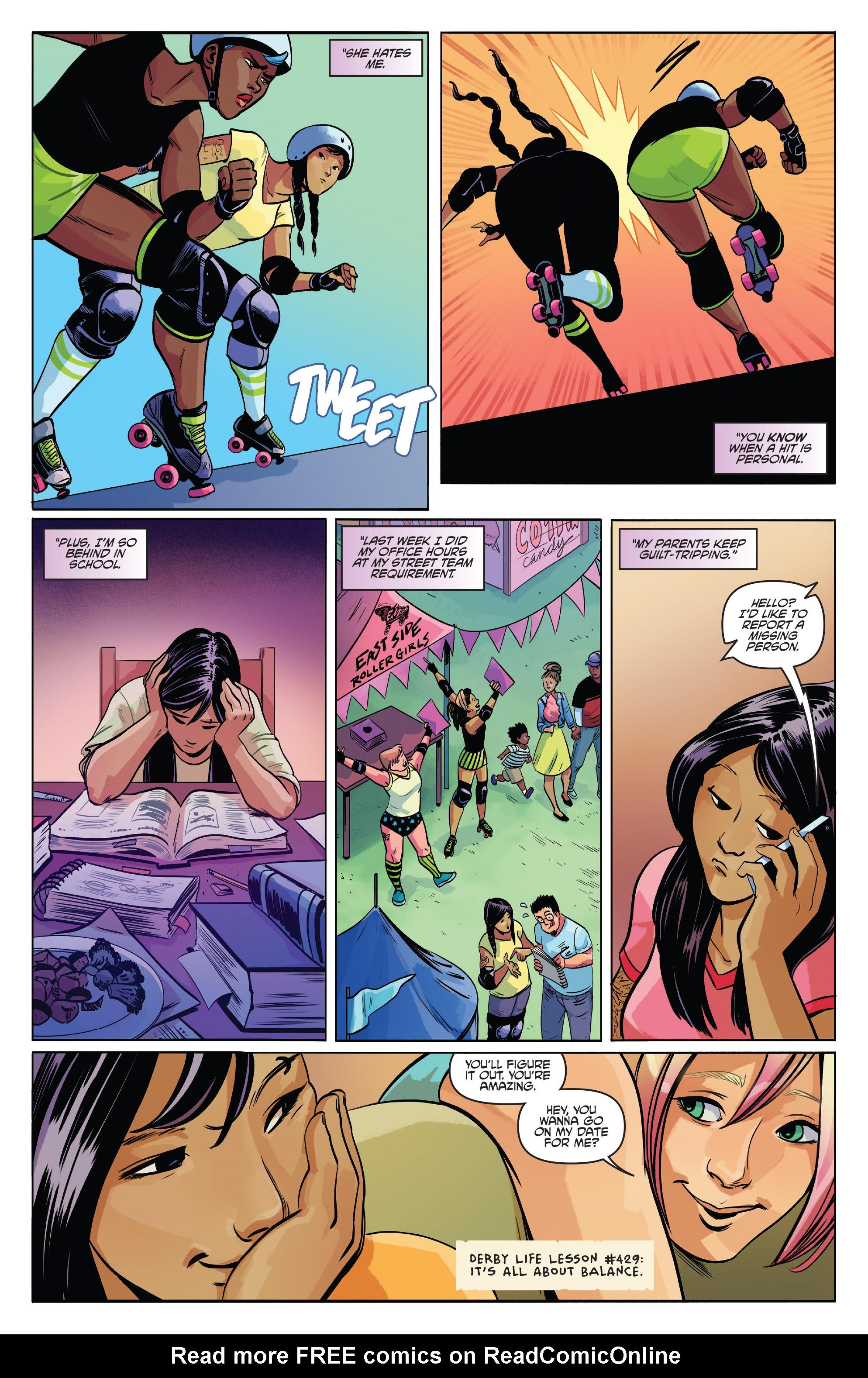 Read online Slam! comic -  Issue #2 - 7