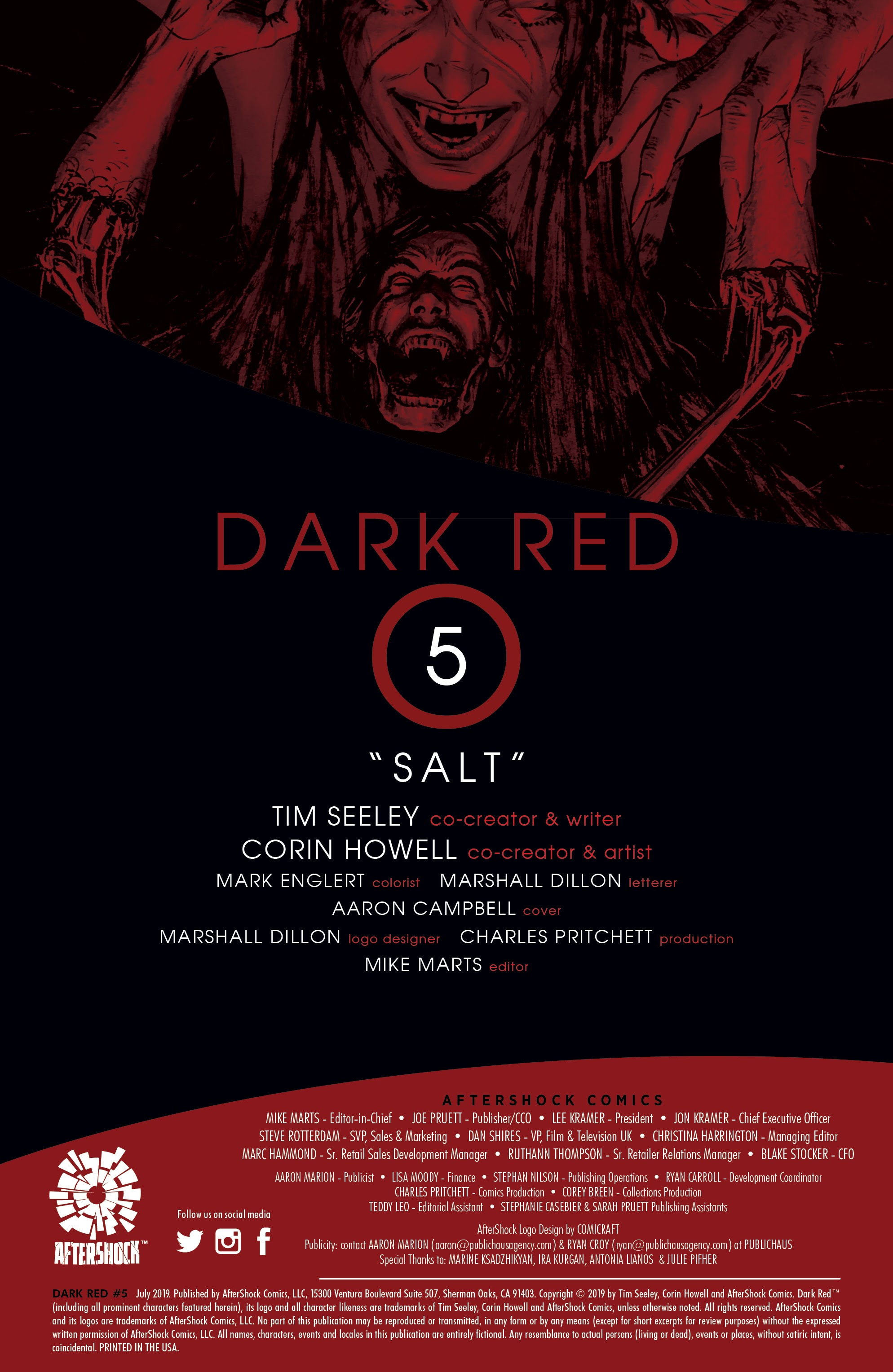 Read online Dark Red comic -  Issue #5 - 2