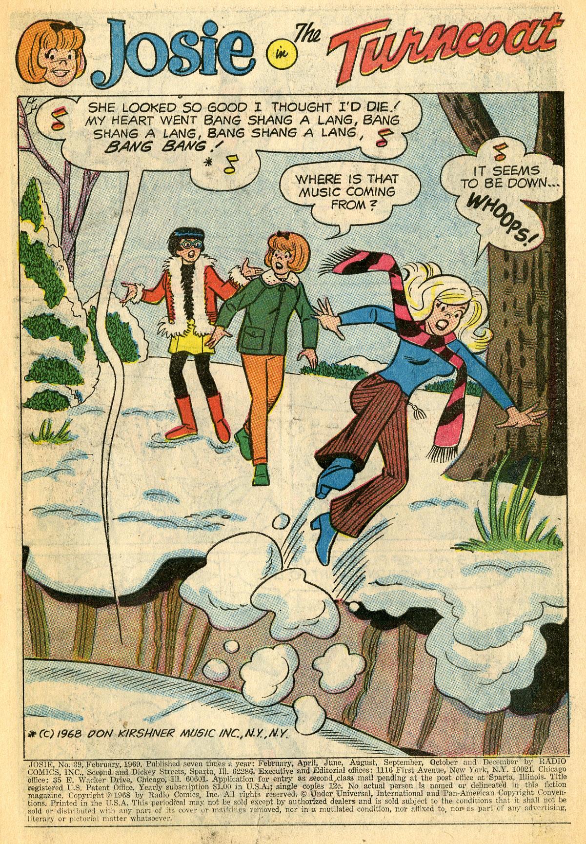 Read online She's Josie comic -  Issue #39 - 3